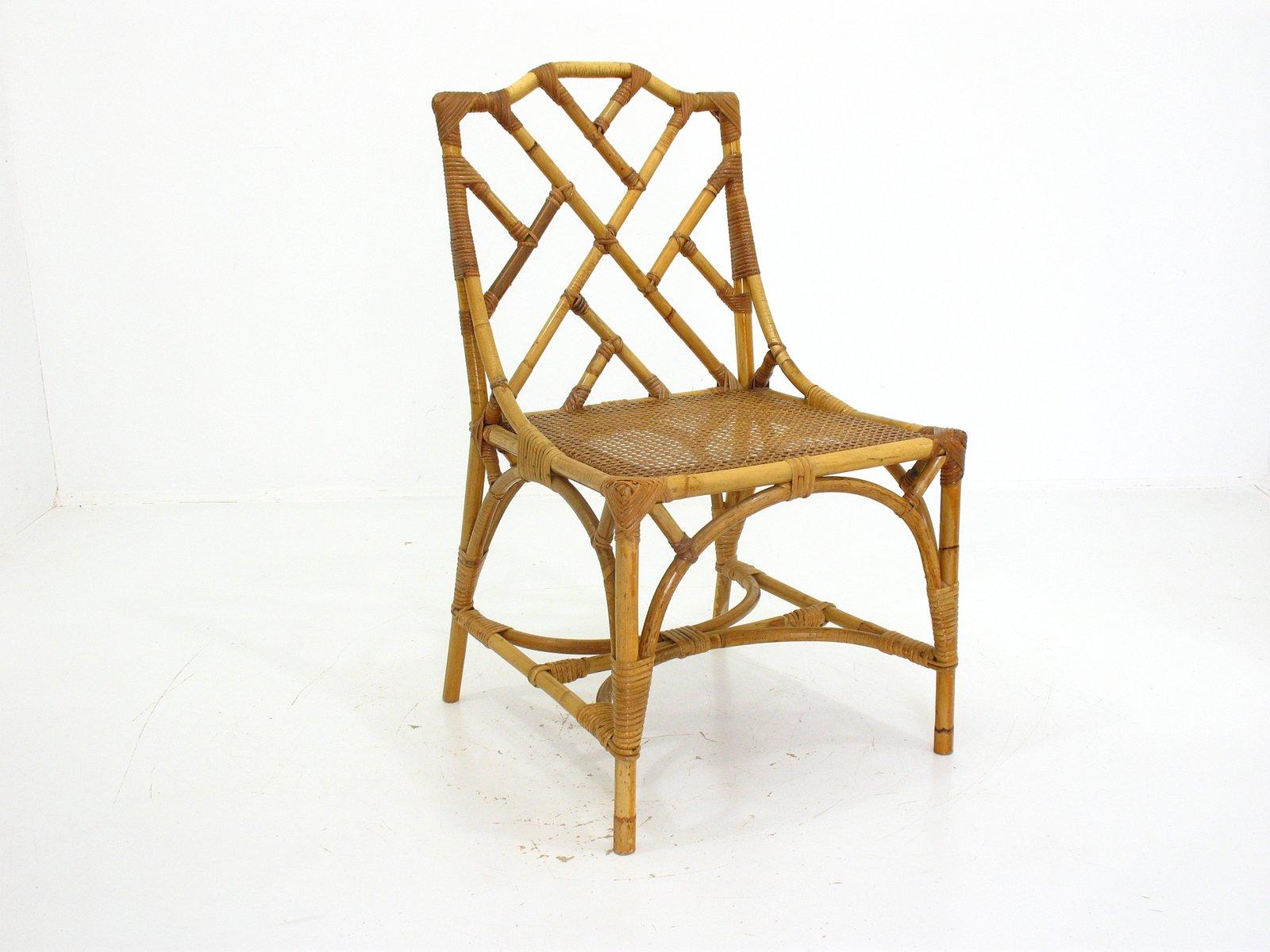 bambus stuhl, 1960er bei pamono kaufen