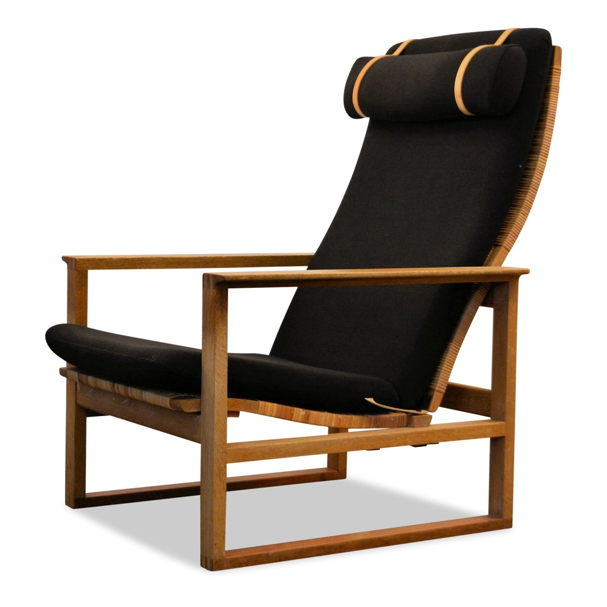 Mid-Century Modell 2254 Eichenholz Sessel von Børge Mogensen für Frede...