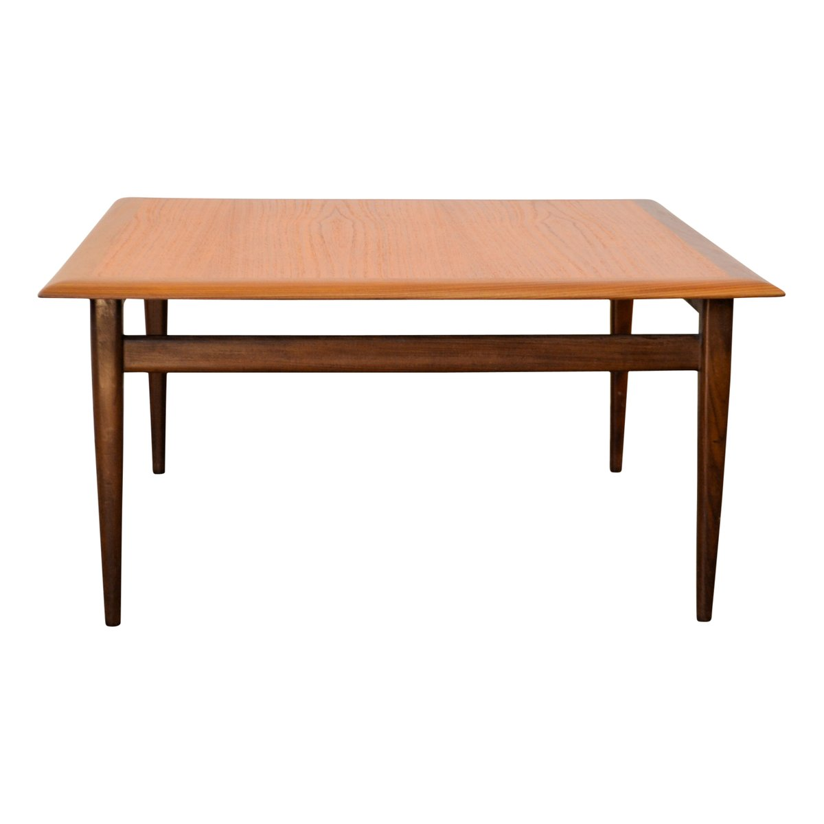 Teak Square Coffee Table, 1960s For Sale At Pamono