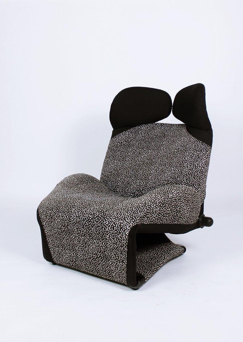 Italienischer Wink Sessel von Toshiyuki Kita für Cassina, 1980er