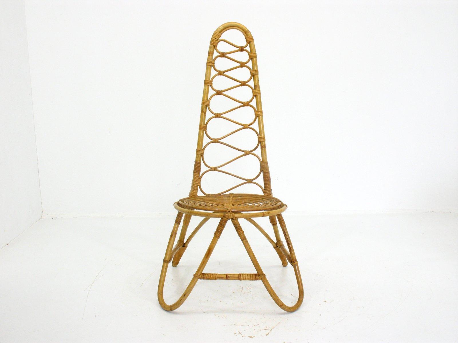 Sedia in bamb anni 39 70 in vendita su pamono for Sedia design anni 70