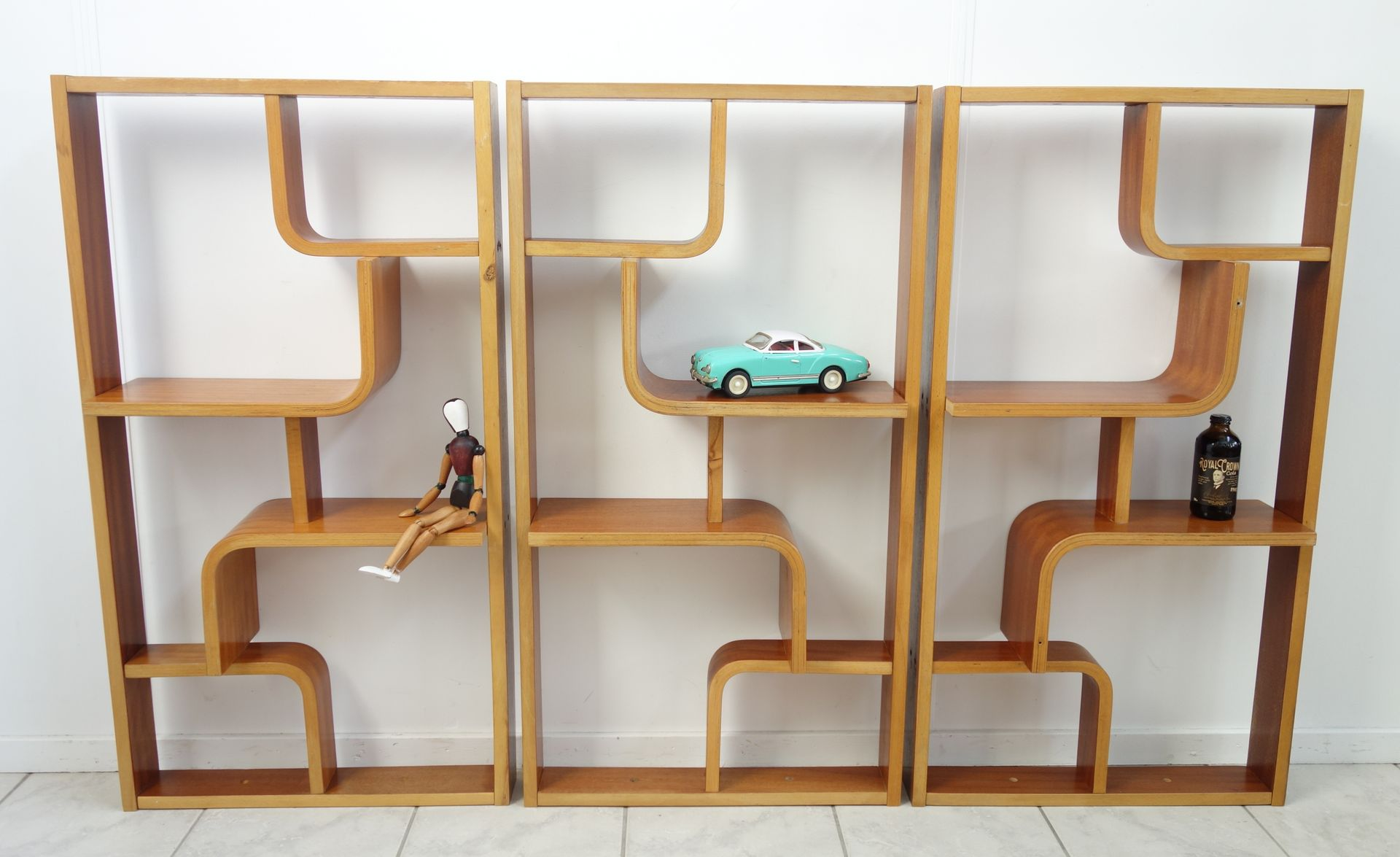 Shelving Unit Or Room Divider By Ludvik Volak For Drevopodnik