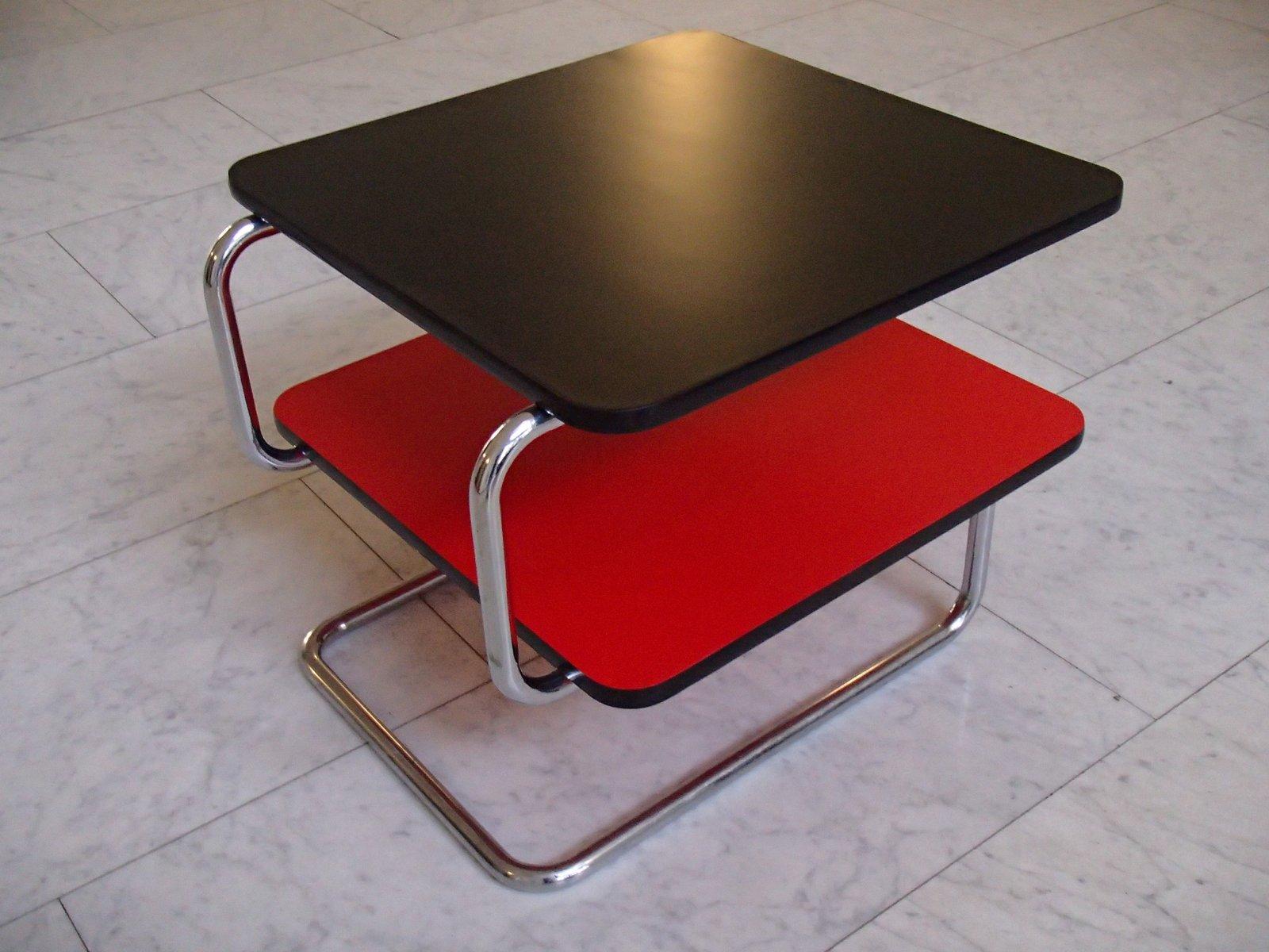 Bauhaus Black U0026 Red Model K17 Coffee Table