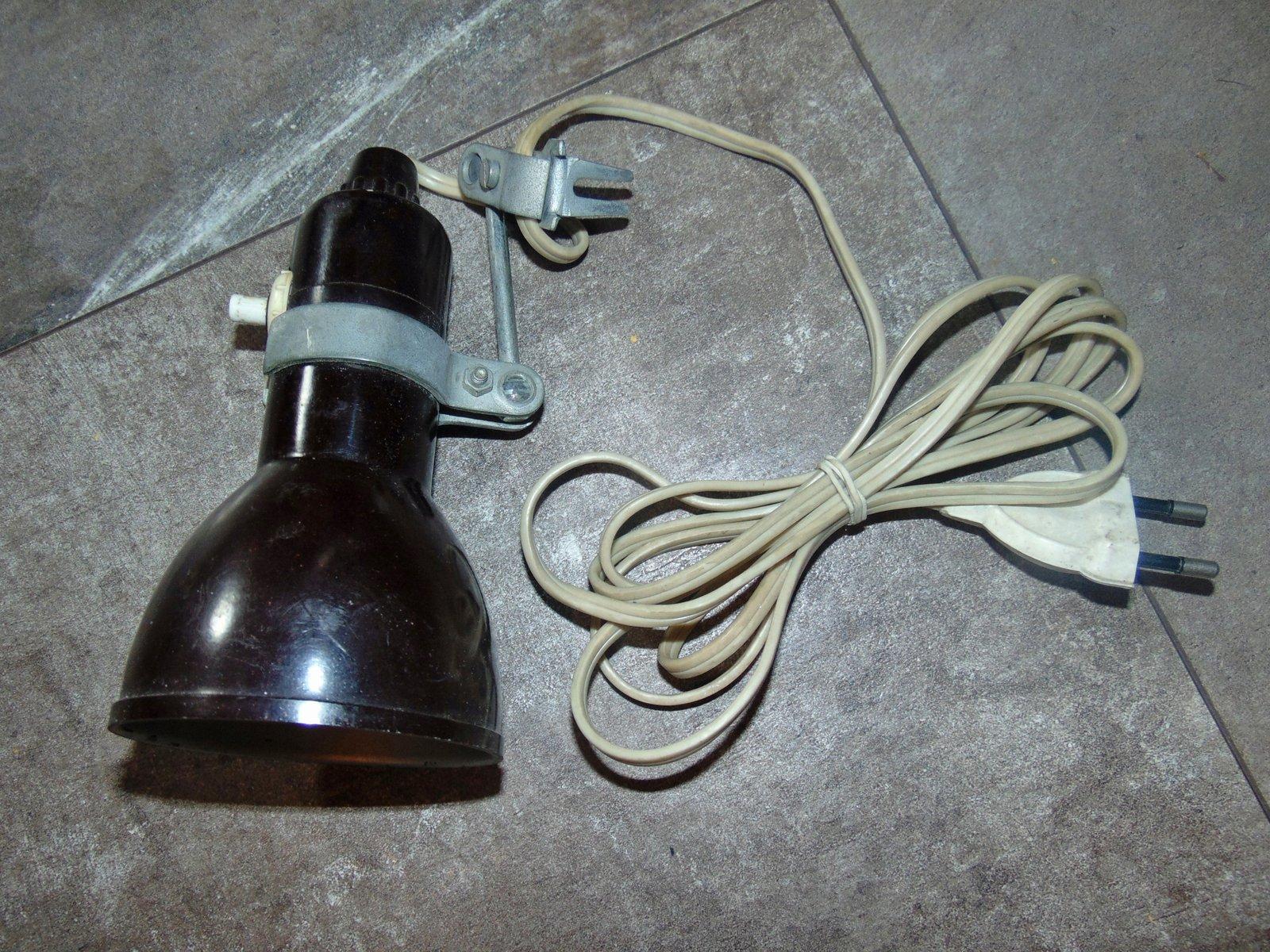 Vintage Bakelit Lampe, 1950er