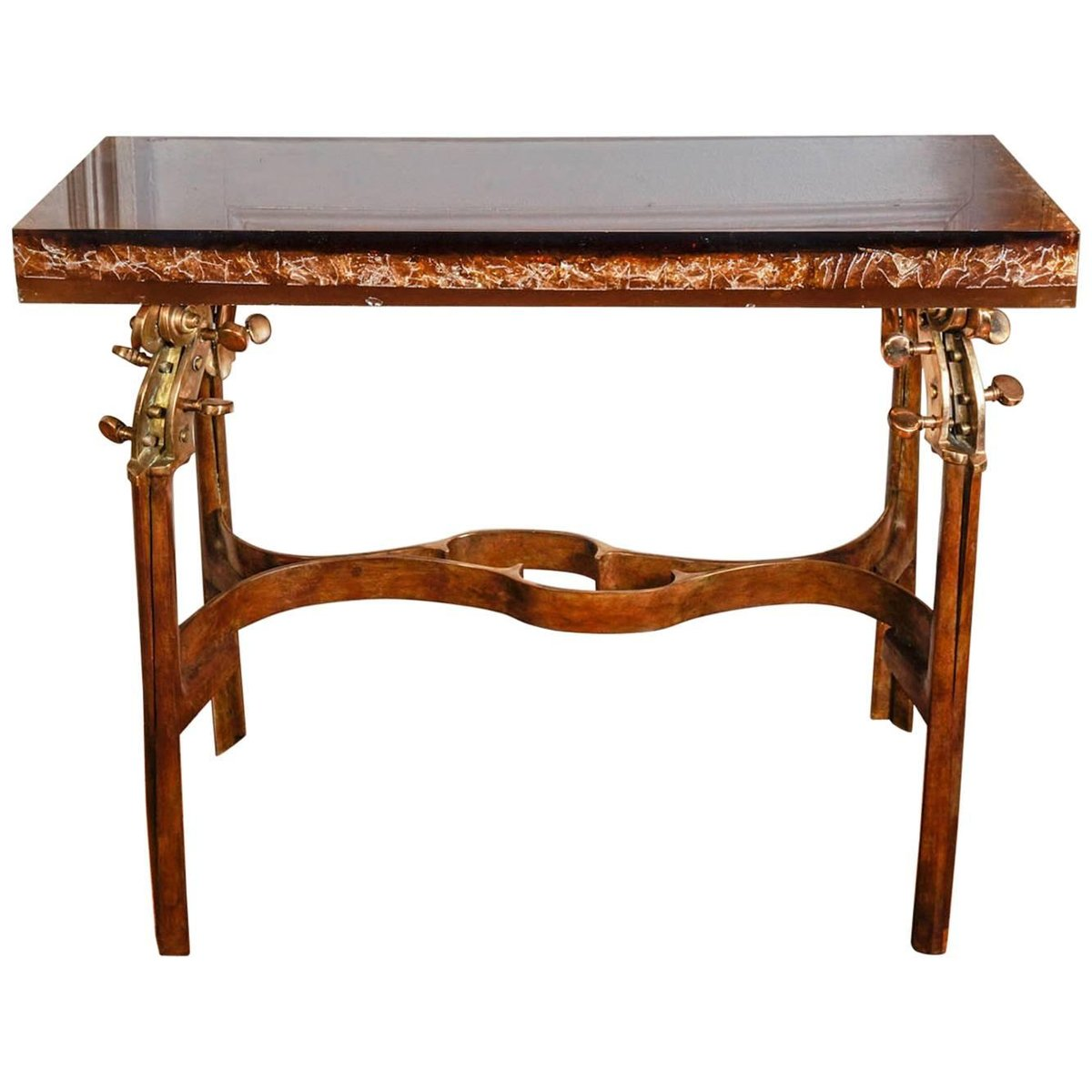 Vintage Console Table By Enzo Missoni For Franco Gavagni