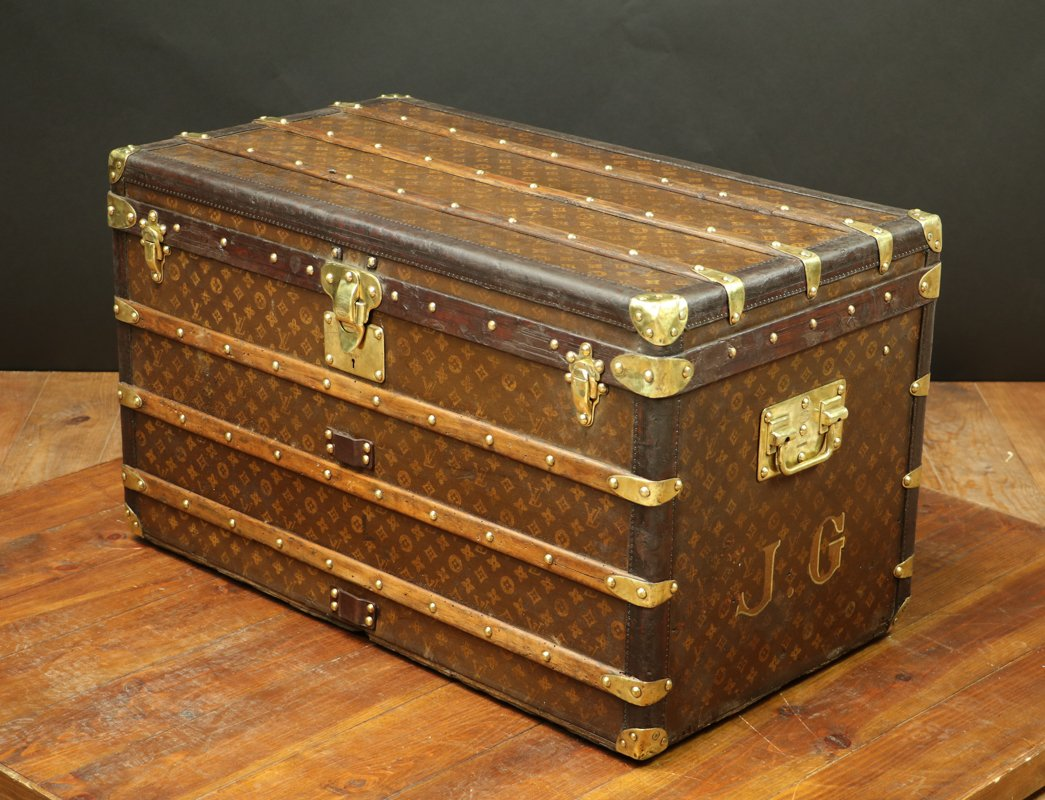 Vintage Trunk from Louis Vuitton for sale at Pamono 869bcd42b77d