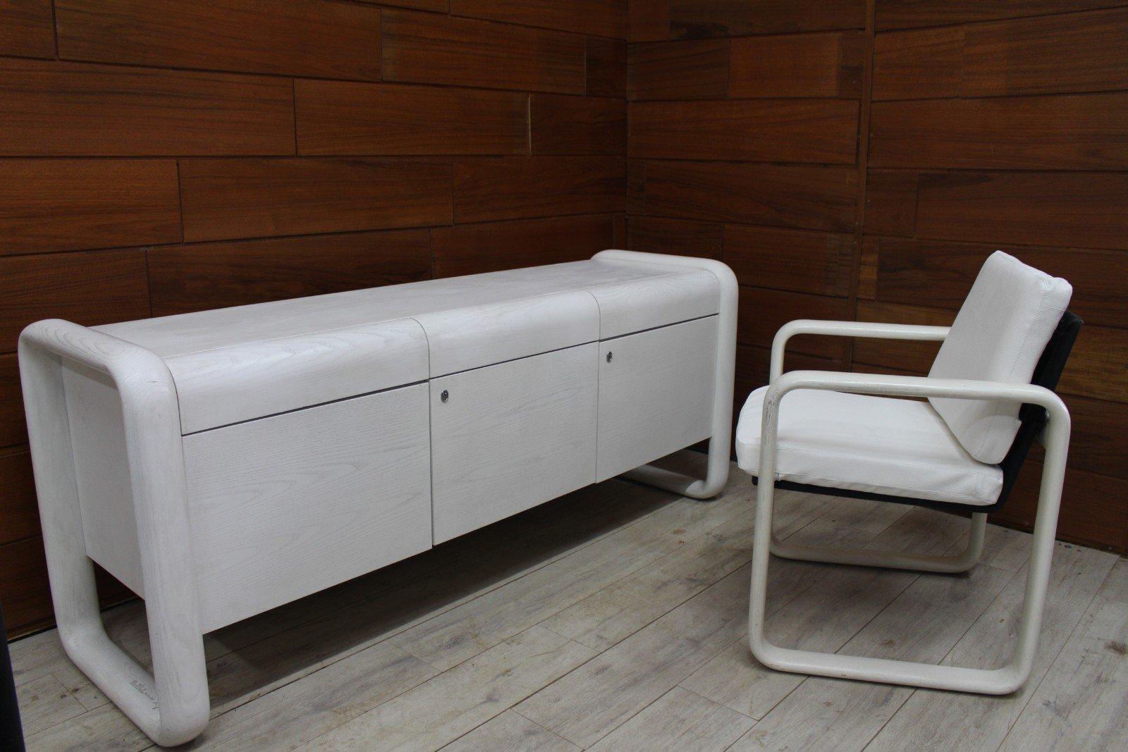 Hombre Sideboard & Sessel von Burkhard Vogtherr für Rosenthal, 1960er