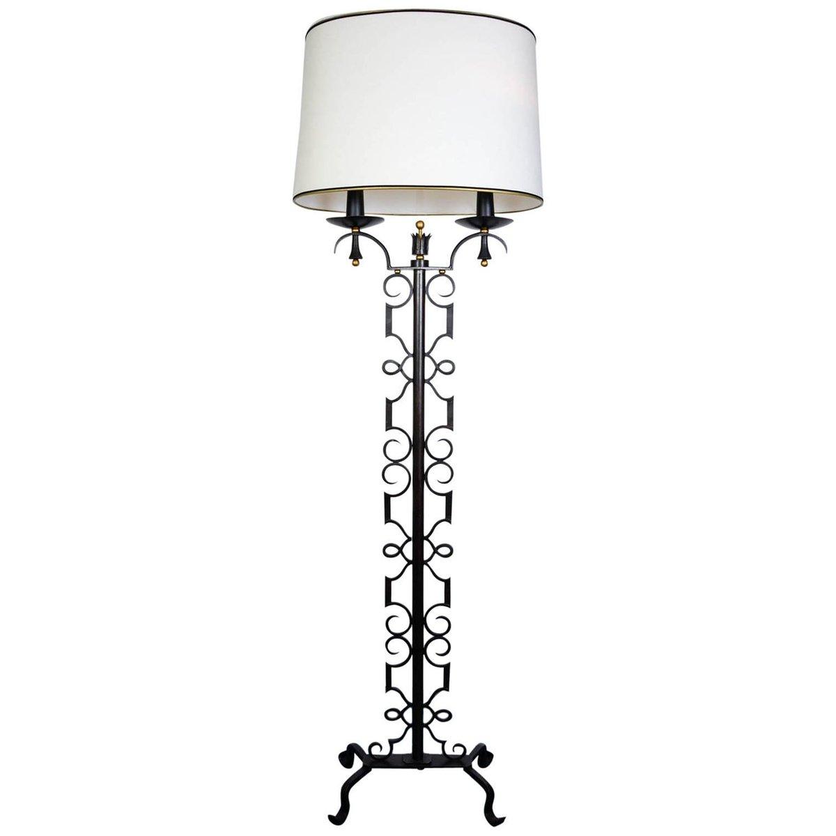 Stehlampe von Paul Kiss, 1940er