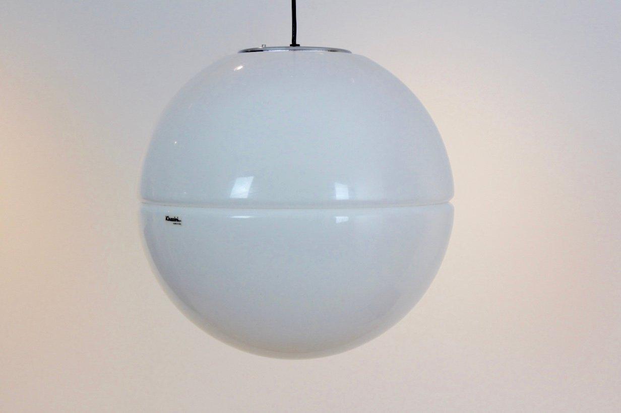 Große Kugel-Hängelampe von iGuzzini, 1960er