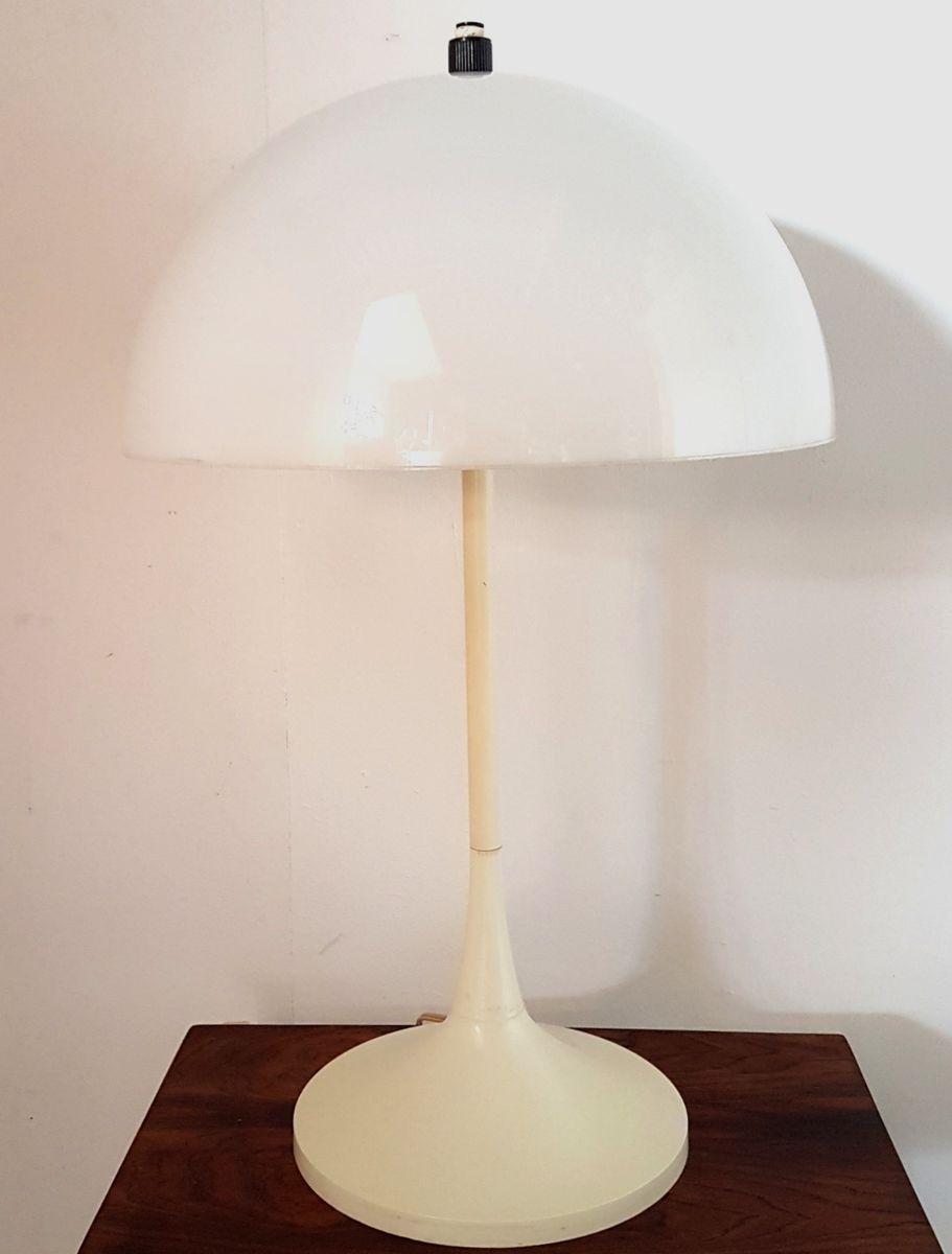 Space Age Mushroom Tischlampe von Hala, 1960er