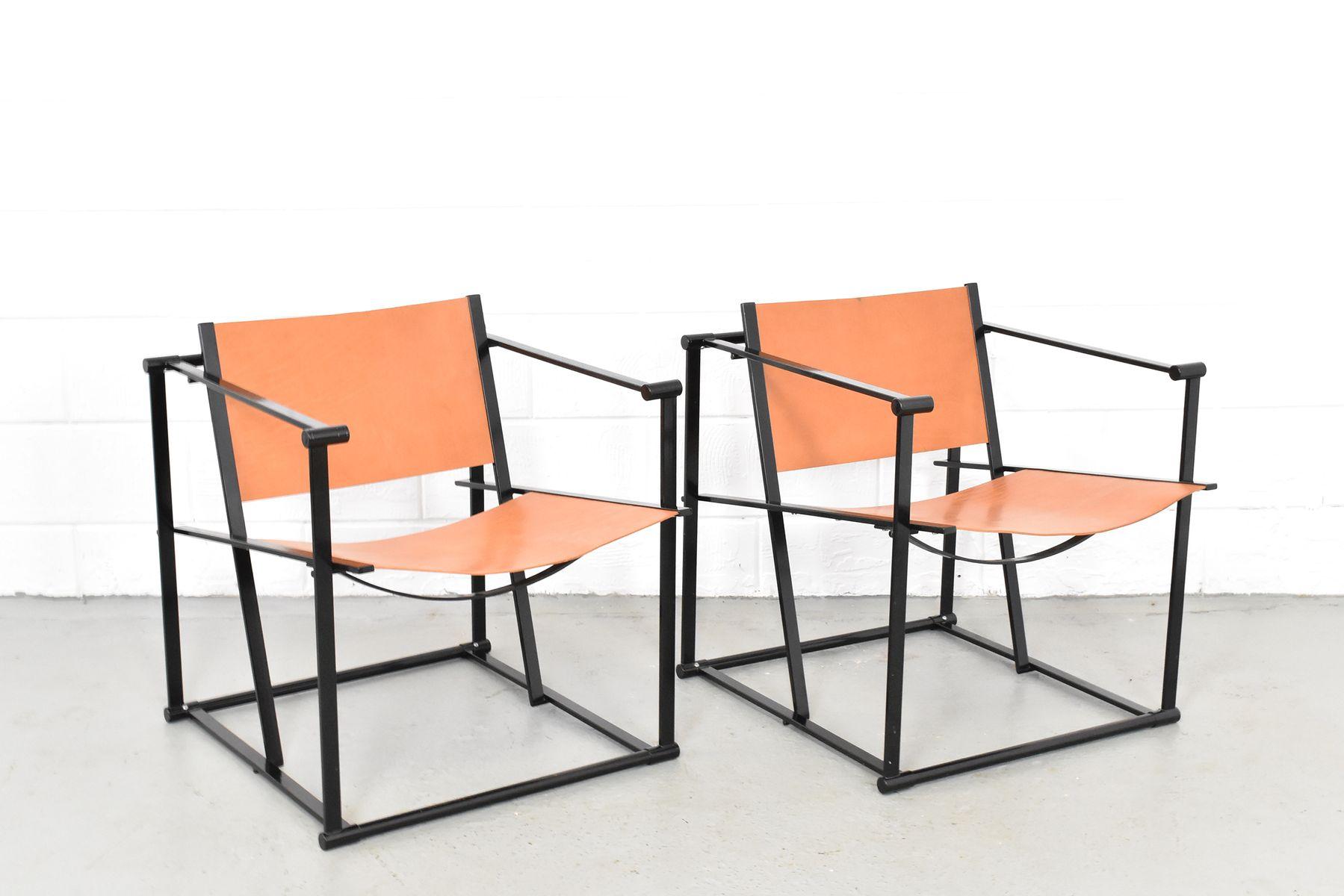 Modell FM61 Sessel von Radboud van Beekum für Pastoe, 1980er, 2er Set