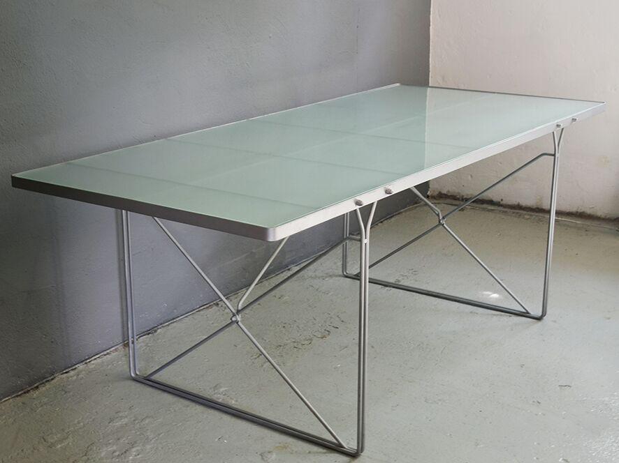 esstisch von niels gammelgaard f r ikea 1980er bei pamono kaufen. Black Bedroom Furniture Sets. Home Design Ideas