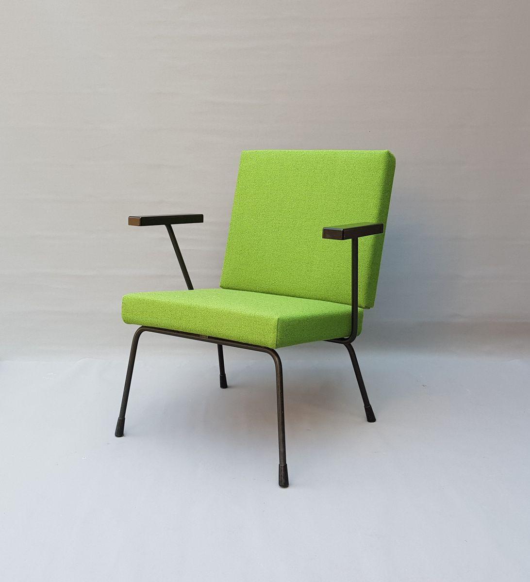 Vintage 415 Sessel von Wim Rietveld für Gispen