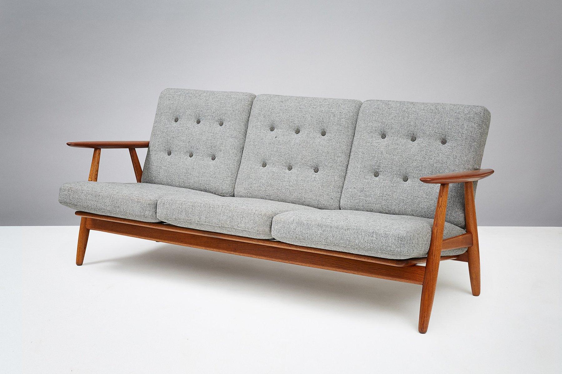 Ge 240 Cigar Sofa By Hans J Wegner For Getama 1955