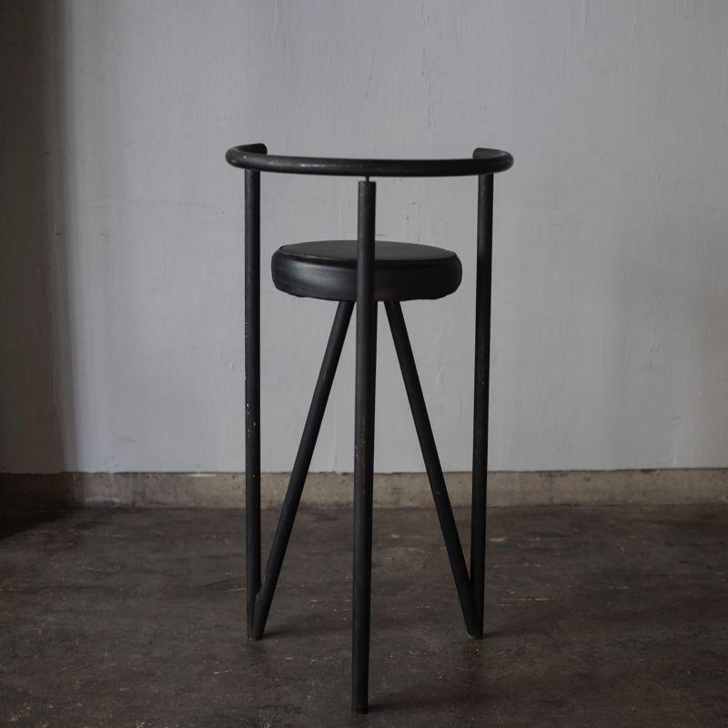 tabouret haut miss dorn par philippe starck pour disform 1980s en vente sur pamono. Black Bedroom Furniture Sets. Home Design Ideas