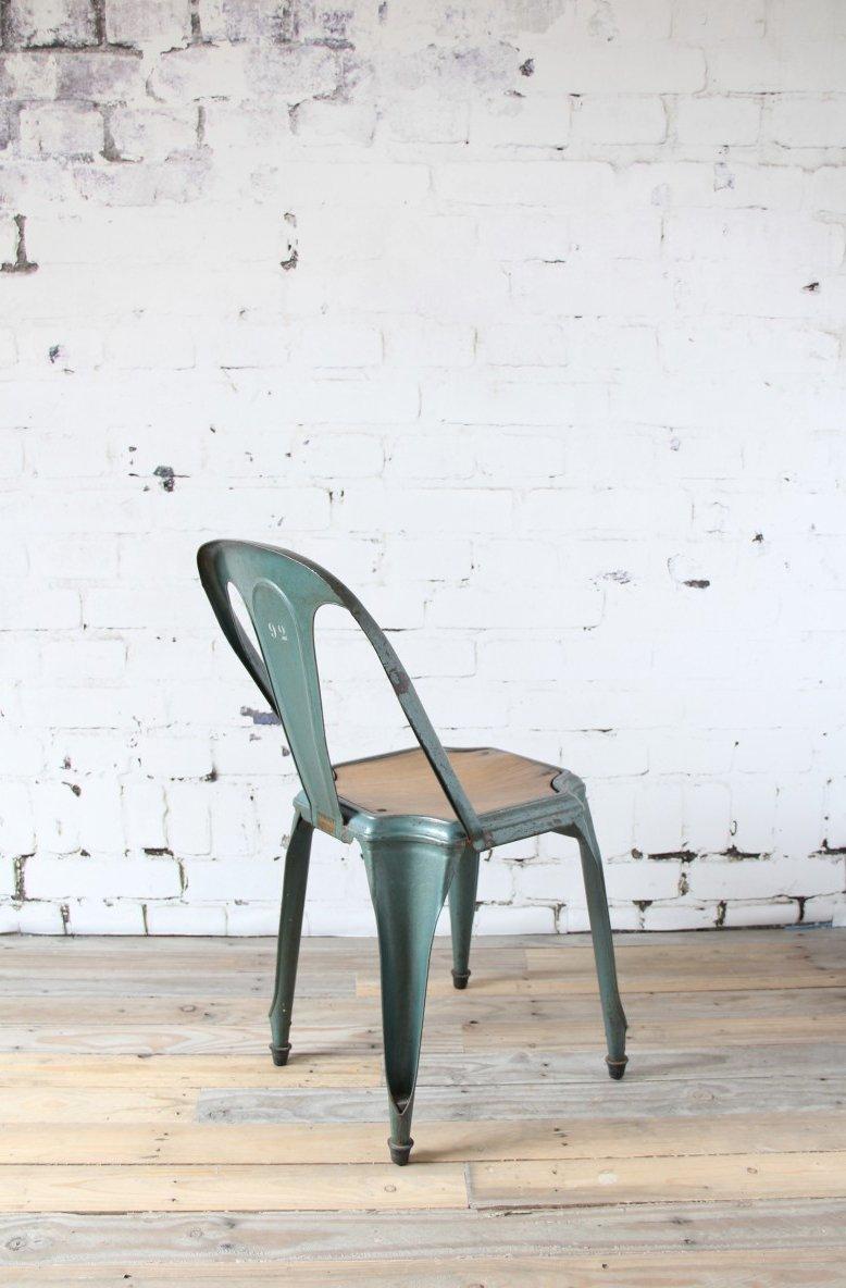 Gr ner mid century stuhl von fibrocit bei pamono kaufen - Mid century stuhl ...