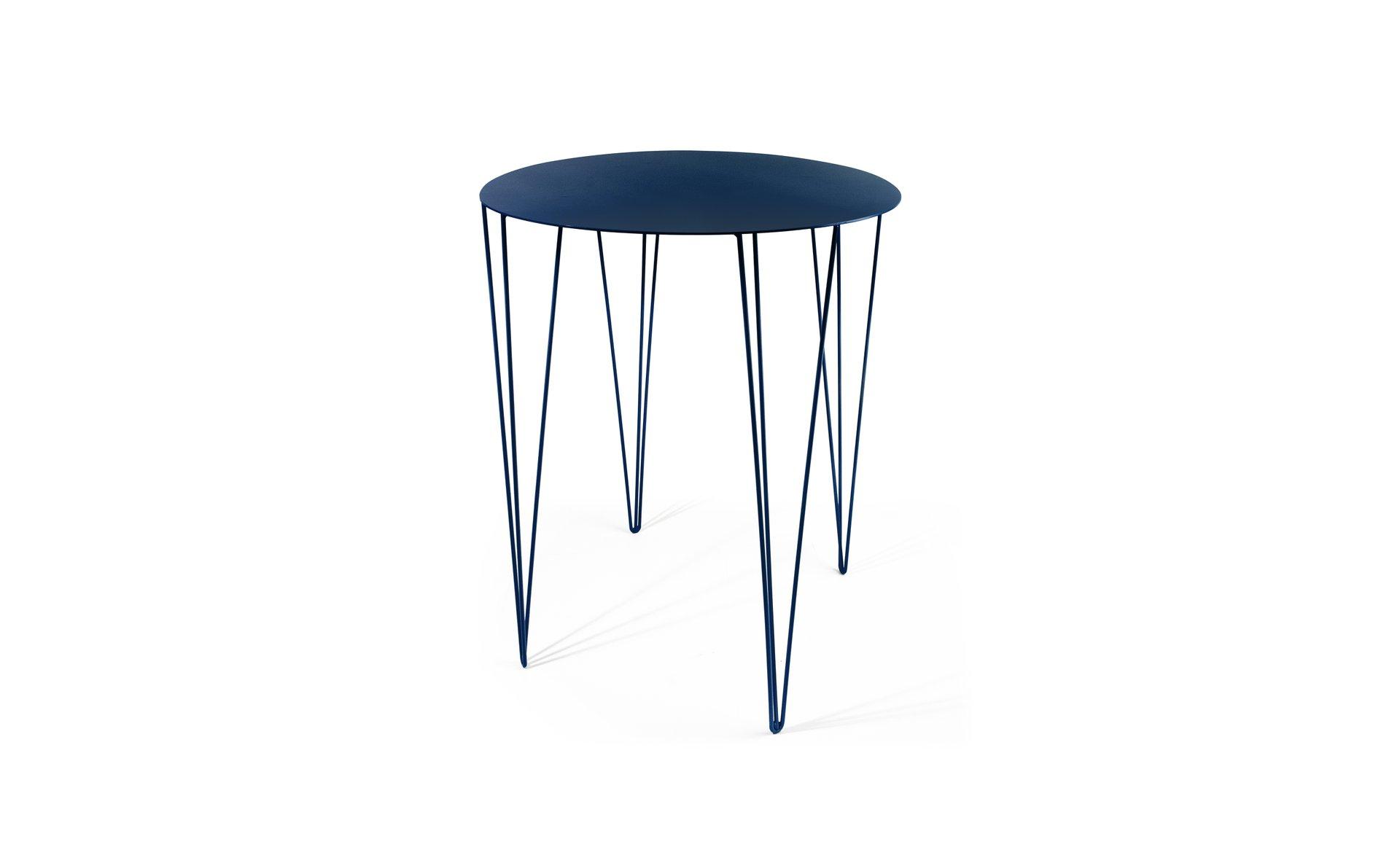 Chele Bistrotisch in Blau von Antonino Sciortino für Atipico