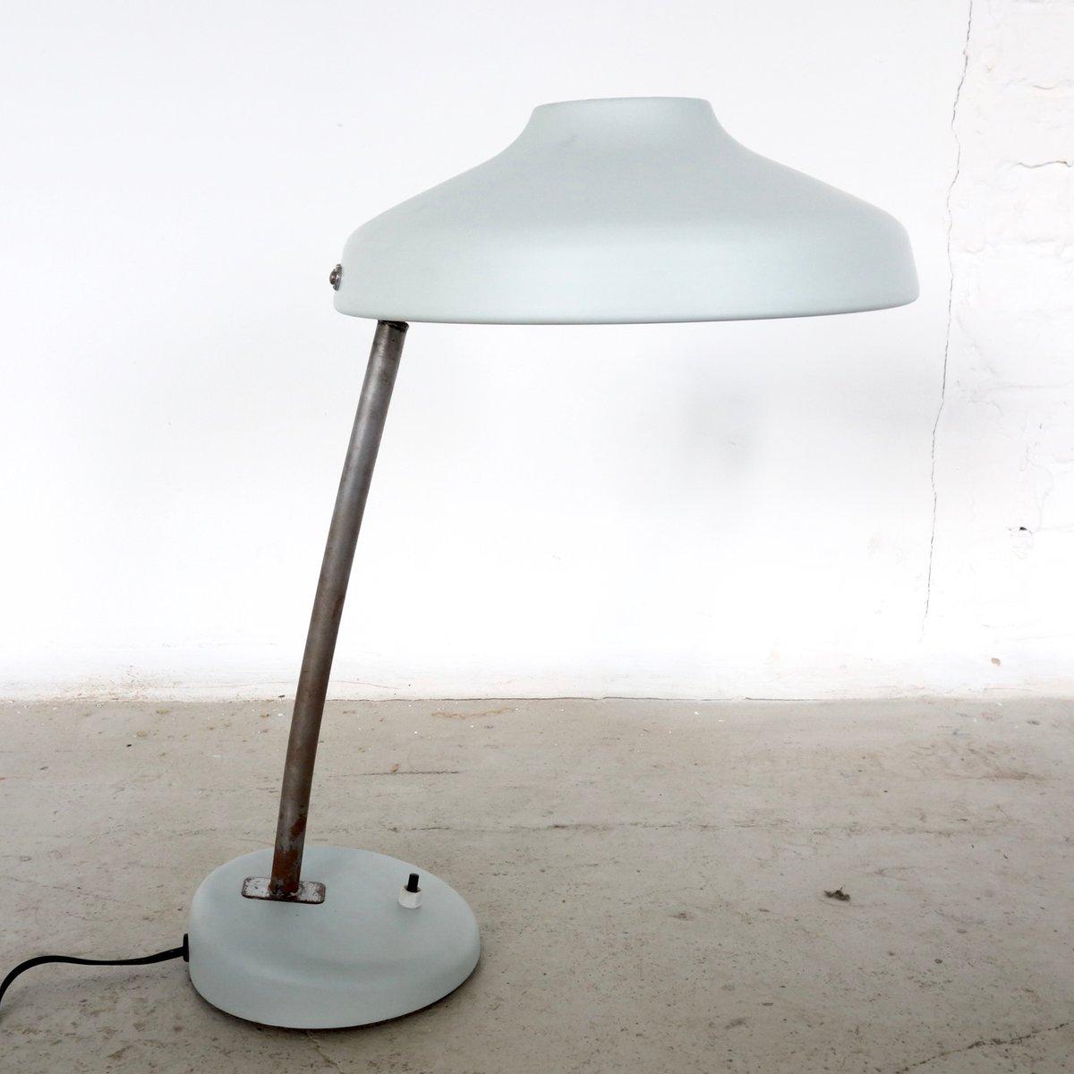 Verstellbare französische Vintage Schreibtischlampen, 2er Set