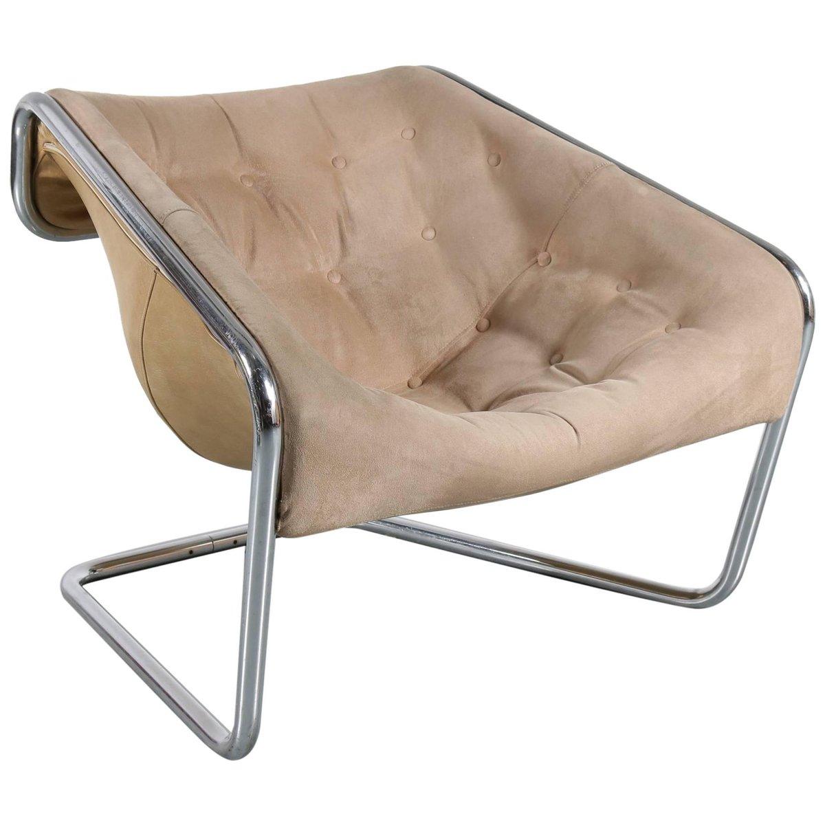 Französischer Vintage Boxer Chair von Kwok Hoi Chan für Steiner, 1971