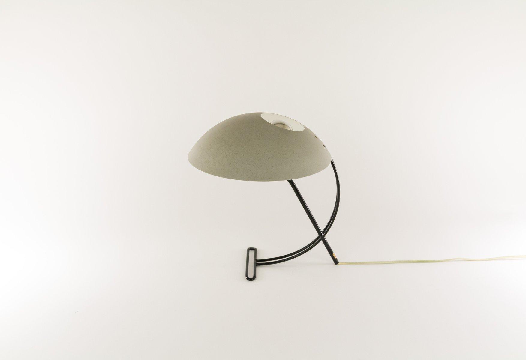Graue NB 100 Tischlampe von Louis Kalff für Philips, 1950er