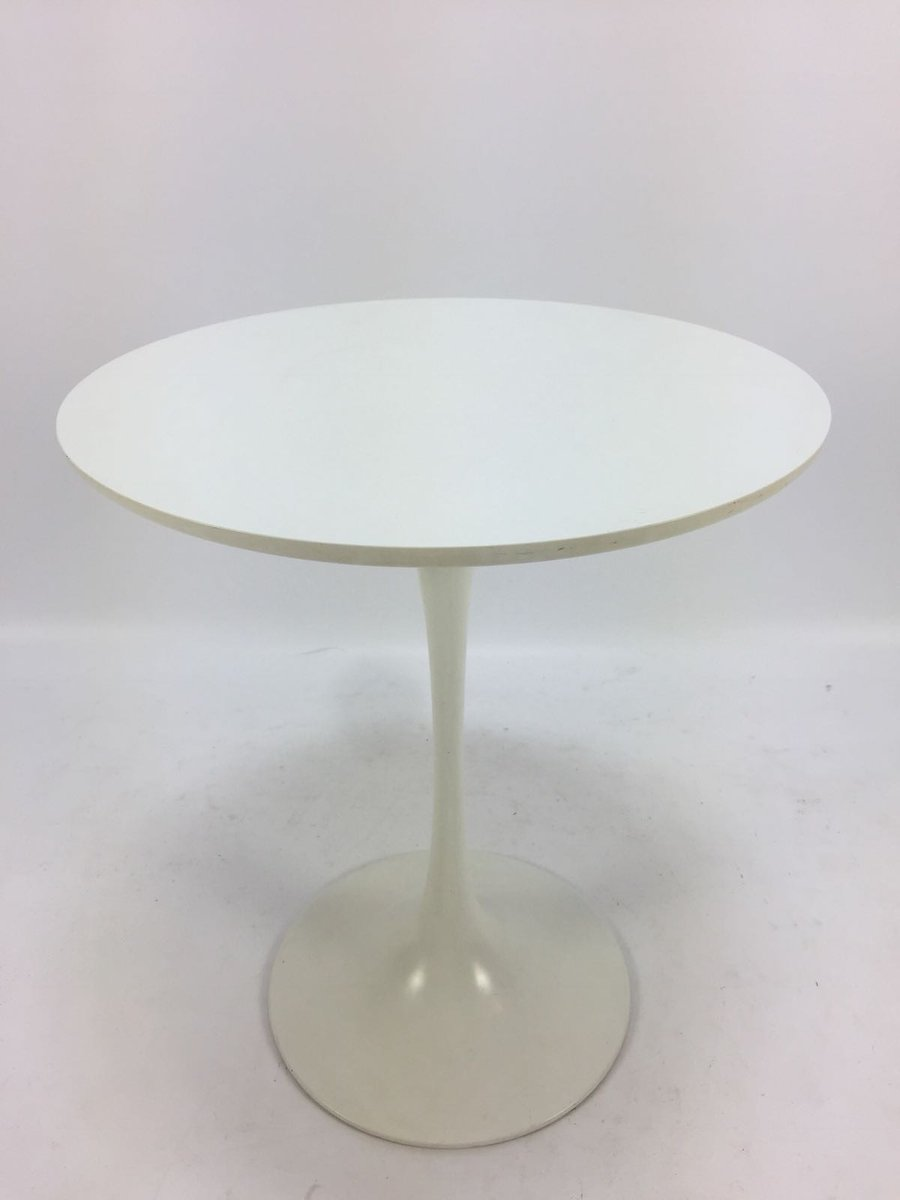 Mid Century Tulip Pedestal Side Table By Maurice Burke For Arkana, 1960s