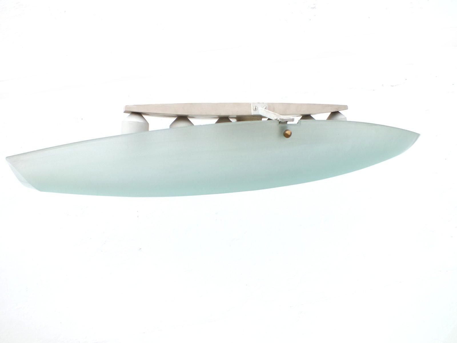 Space Age 2027 Deckenlampe von Max Ingrand für Fontana Arte, 1960er