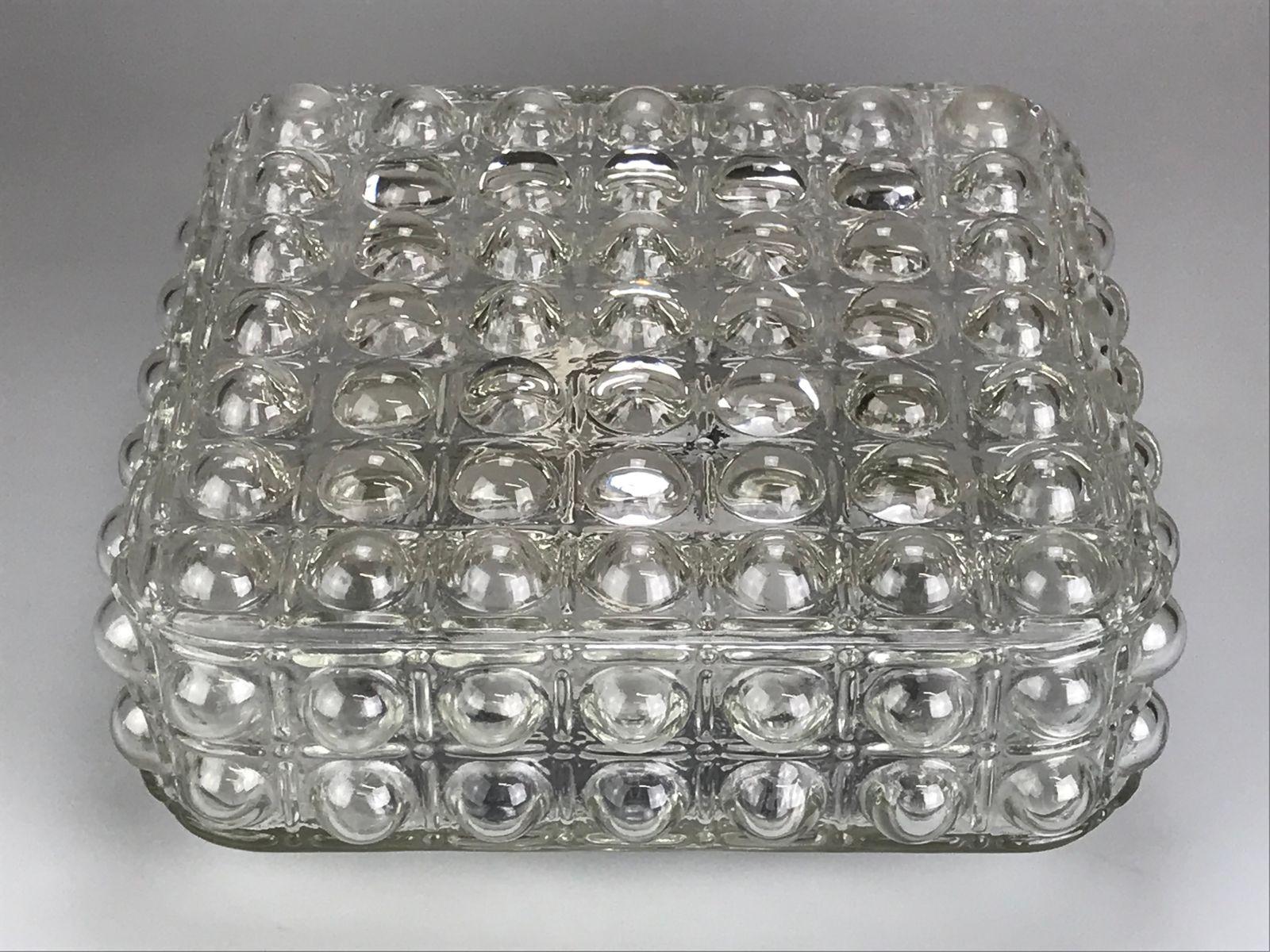 Vintage Space Age Bubble Glas Decken- oder Wandlampe