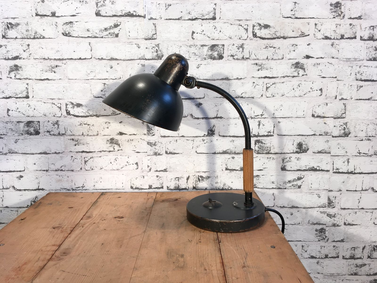 Vintage Industrial Table Lamp From Siemens 1930s For Sale At Pamono