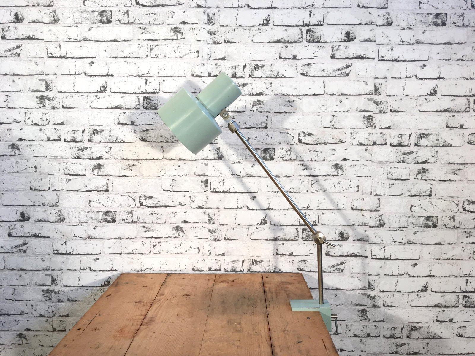 Industrielle Fabrik Schreibtischlampe, 1970er