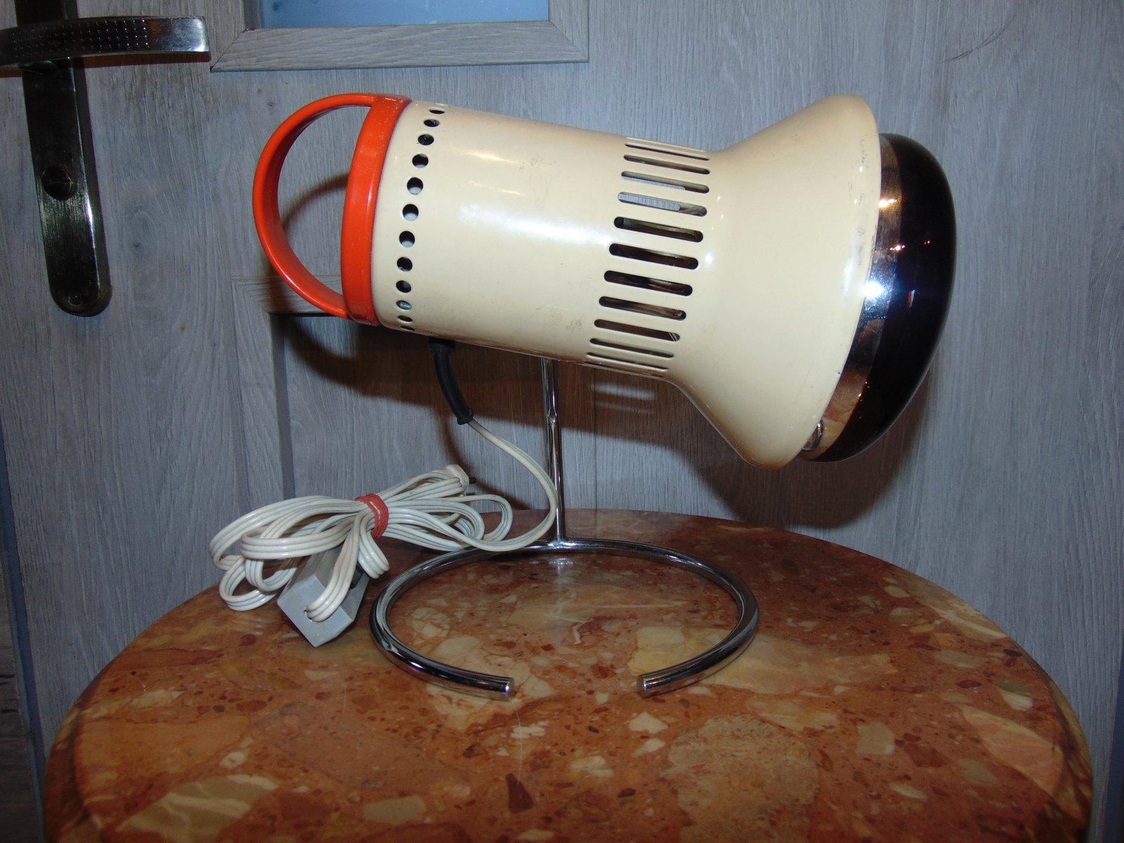 Industrielle Vintage Tischlampe, 1970er