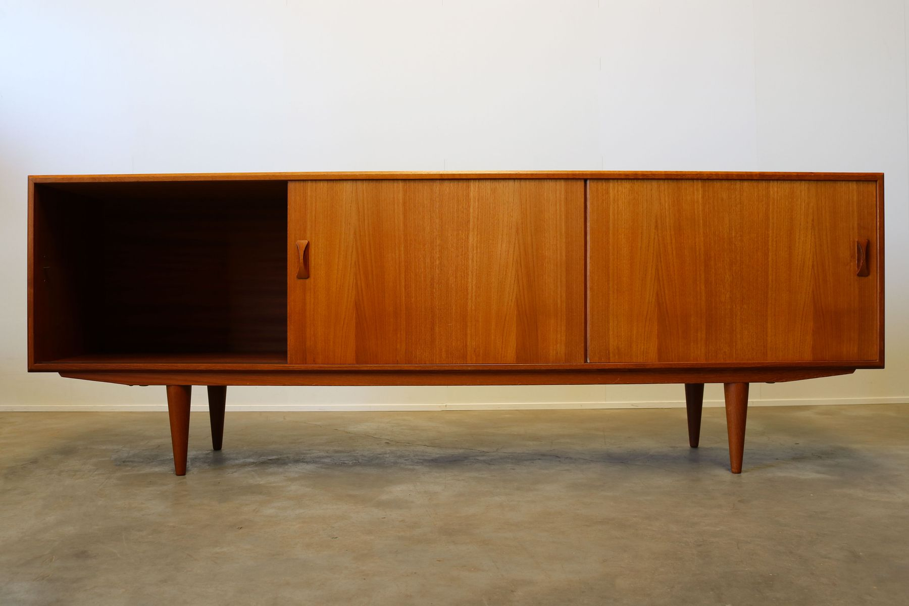 Danish Teak Credenza : Danish teak credenza from clausen son s for sale at pamono