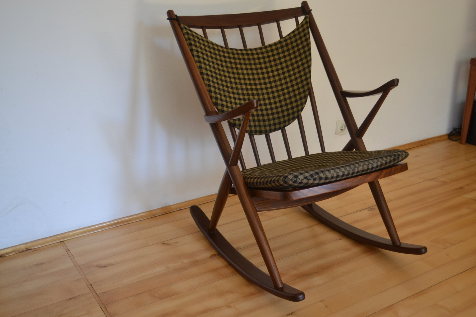 Model 182 Rocking Chair by Frank Reenskaug for Bramin, 1960s for ...