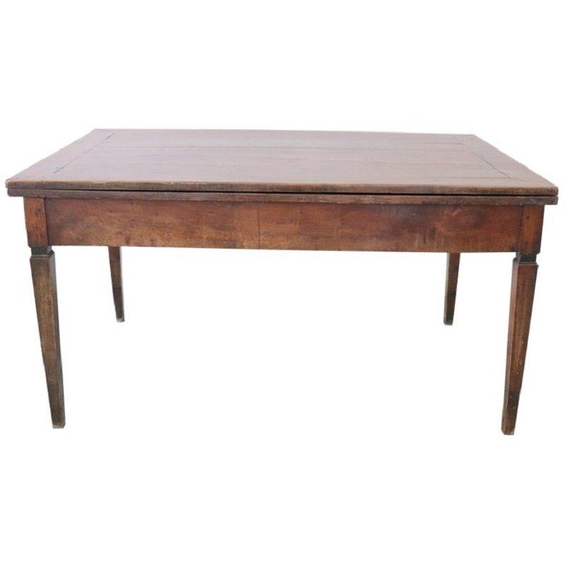 Table De Salle à Manger Louis XVI En Noyer S En Vente Sur Pamono - Salle a manger louis 16