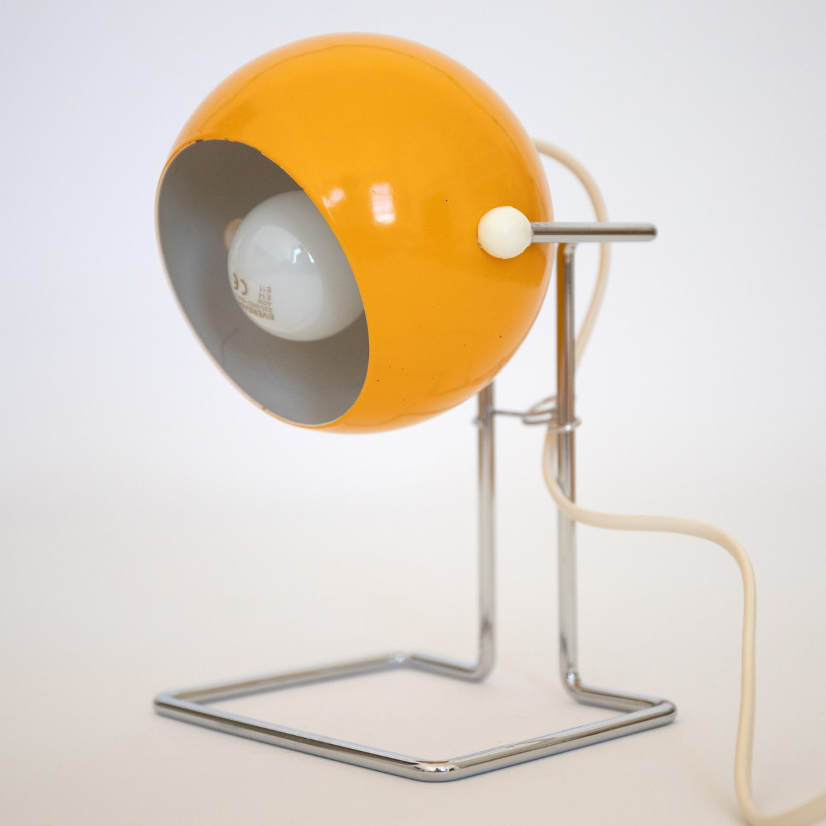 Dänische Pop Art Bubble Lampe in Gelb von P Bosque für Abo Randers, 19...
