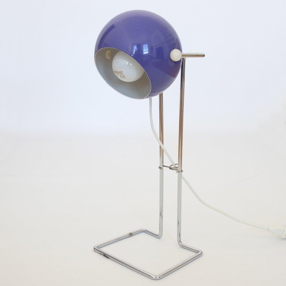 Dänische Pop Art Bubble Lampe in Lile von P Bosque für Abo Randers, 19...