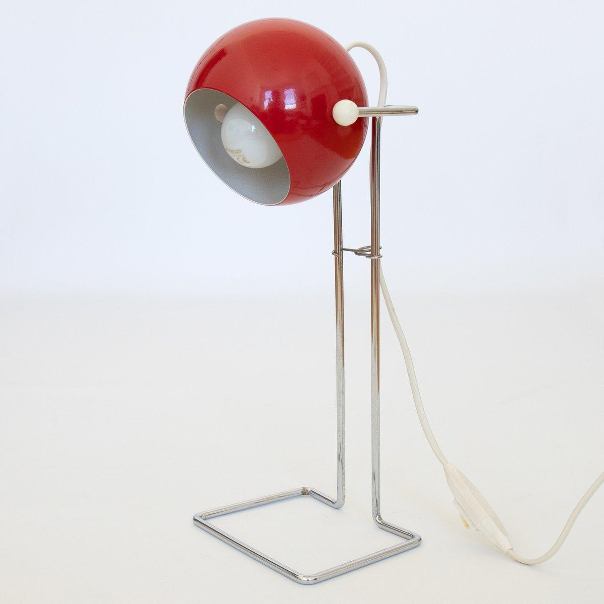 Danish Pop Art Bubble Lamp In Red By P Bosque For Abo Randers 1970s Miniso Golf Desk