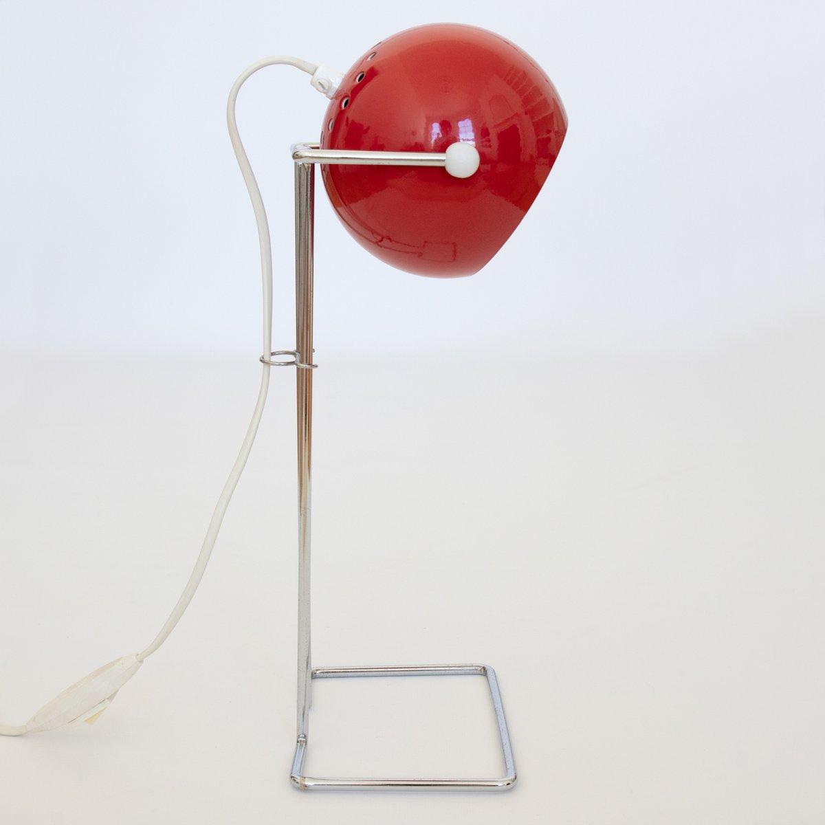 Danish Pop Art Bubble Lamp In Red By P Bosque For Abo Randers 1970s Miniso Golf Desk 12000