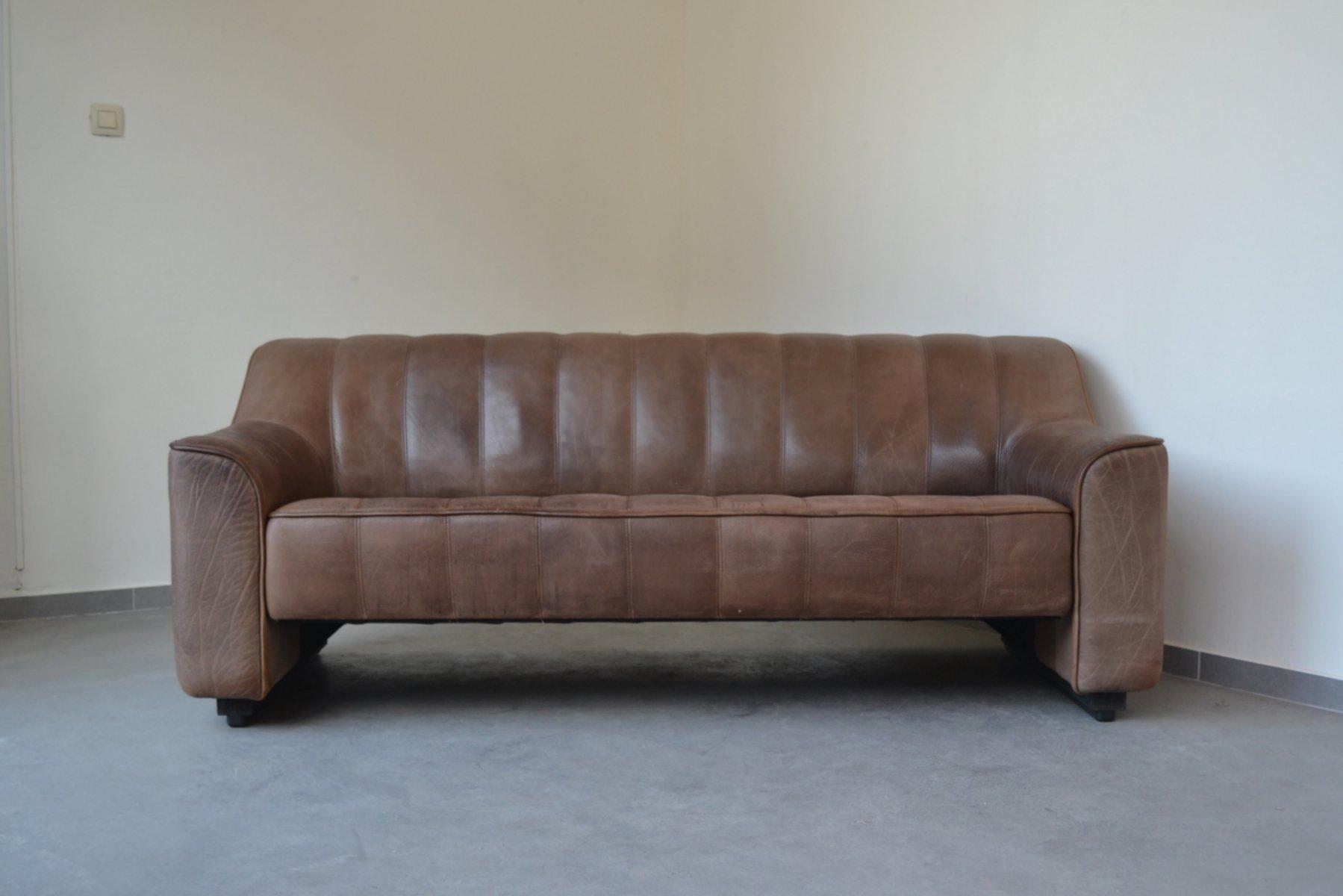 Vintage DS44 3-Sitzer Sofa von de Sede, 1970er