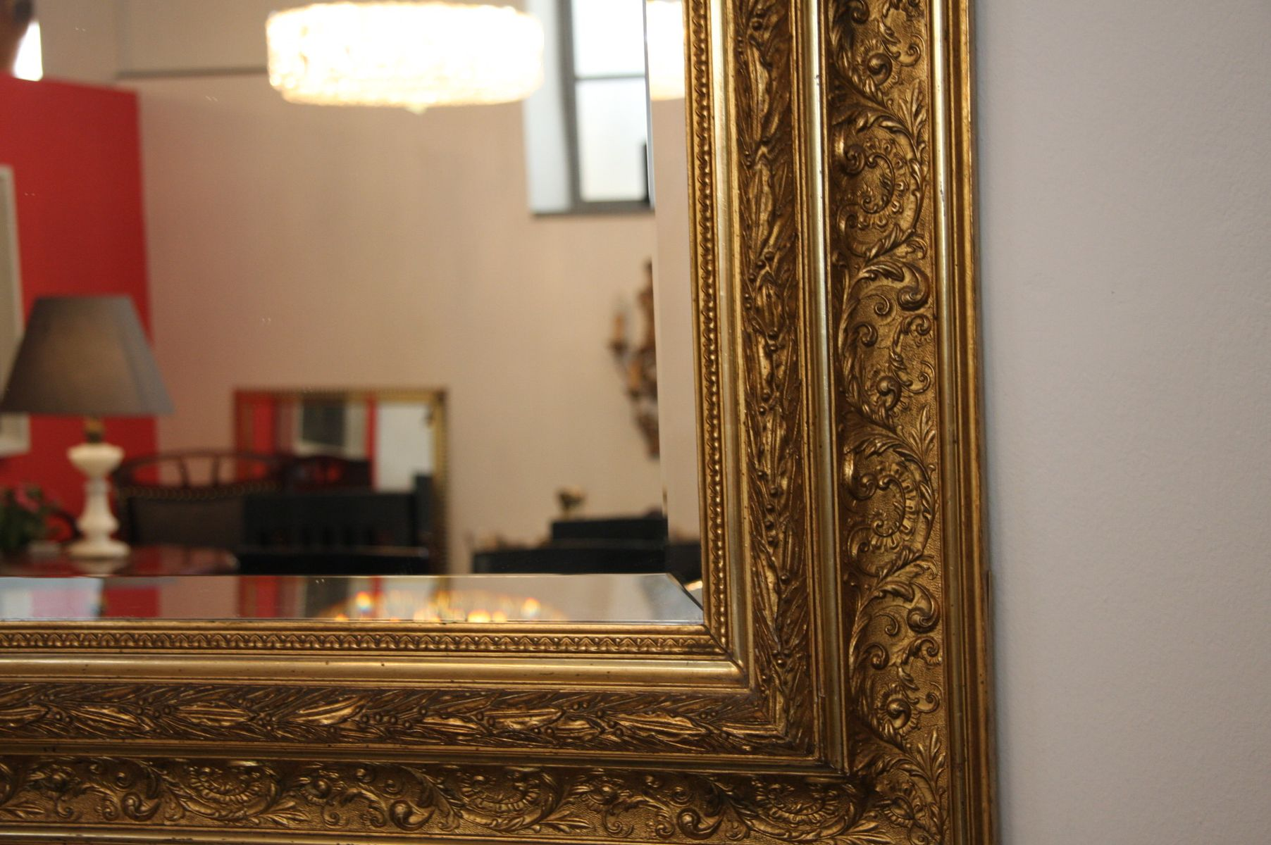 Groer Spiegel Mit Rahmen. Free X Silberner Groer Wand