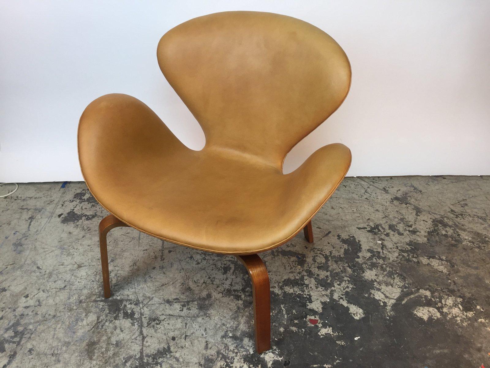 Skandinavischer Swan Chair Von Arne Jacobsen Für Fritz Hansen 1965