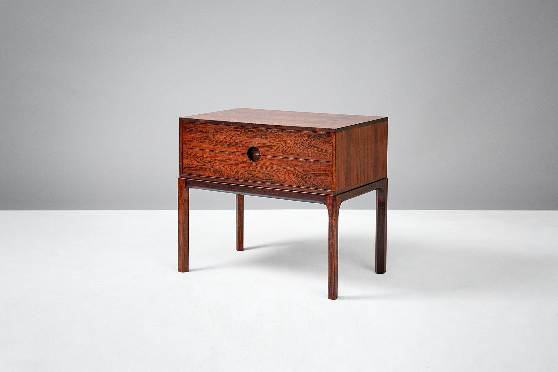 Vintage Palisander Nachttisch von Kai Kristiansen für Aksel Kjaersgaar...