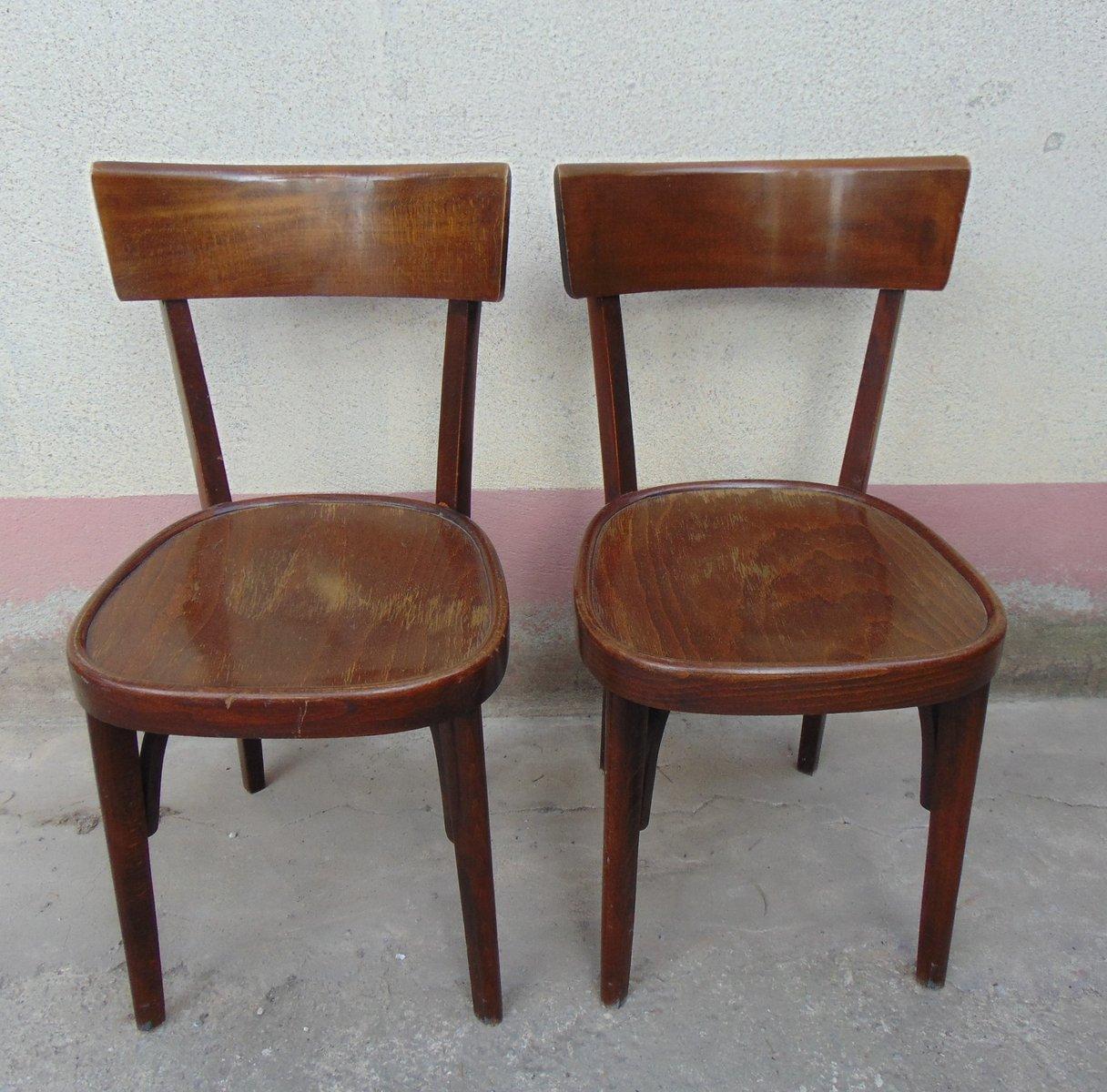 sedie in legno anni 50