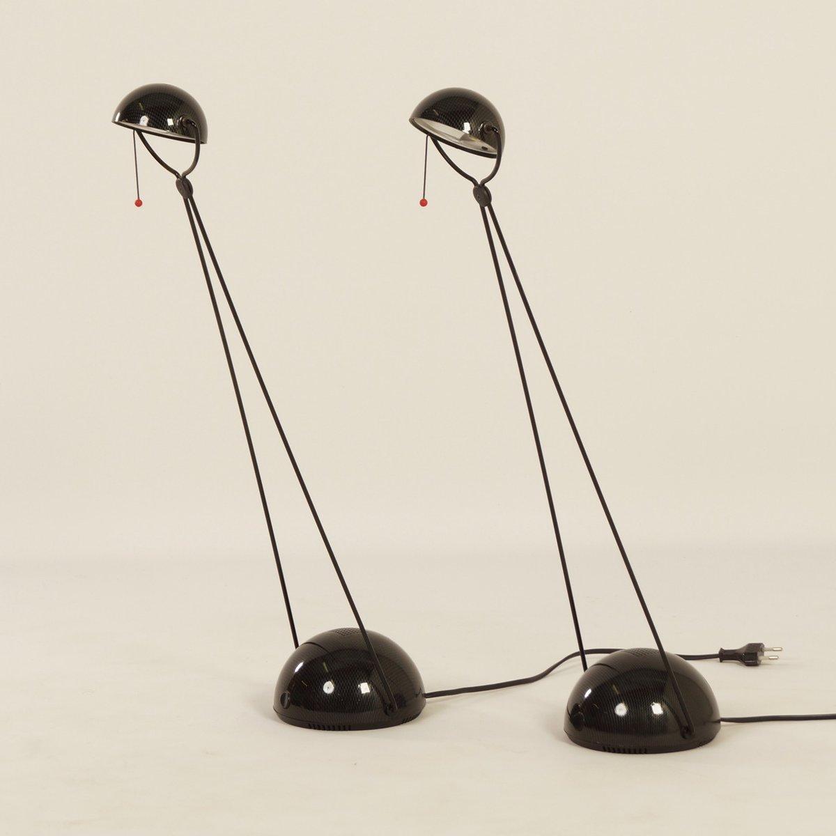Meridiana Schreibtischlampen von Paolo Piva für Stefano Cevoli, 1980er...