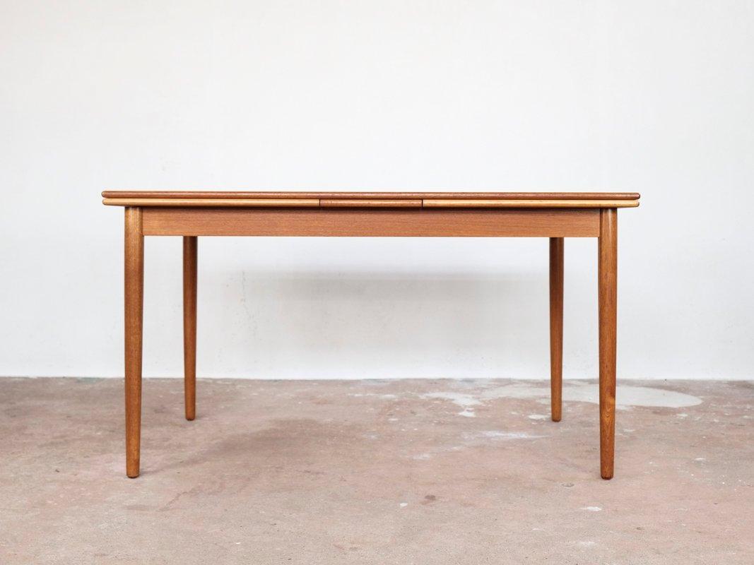 Ausziehbarer dänischer Tisch in Teak, 1960er