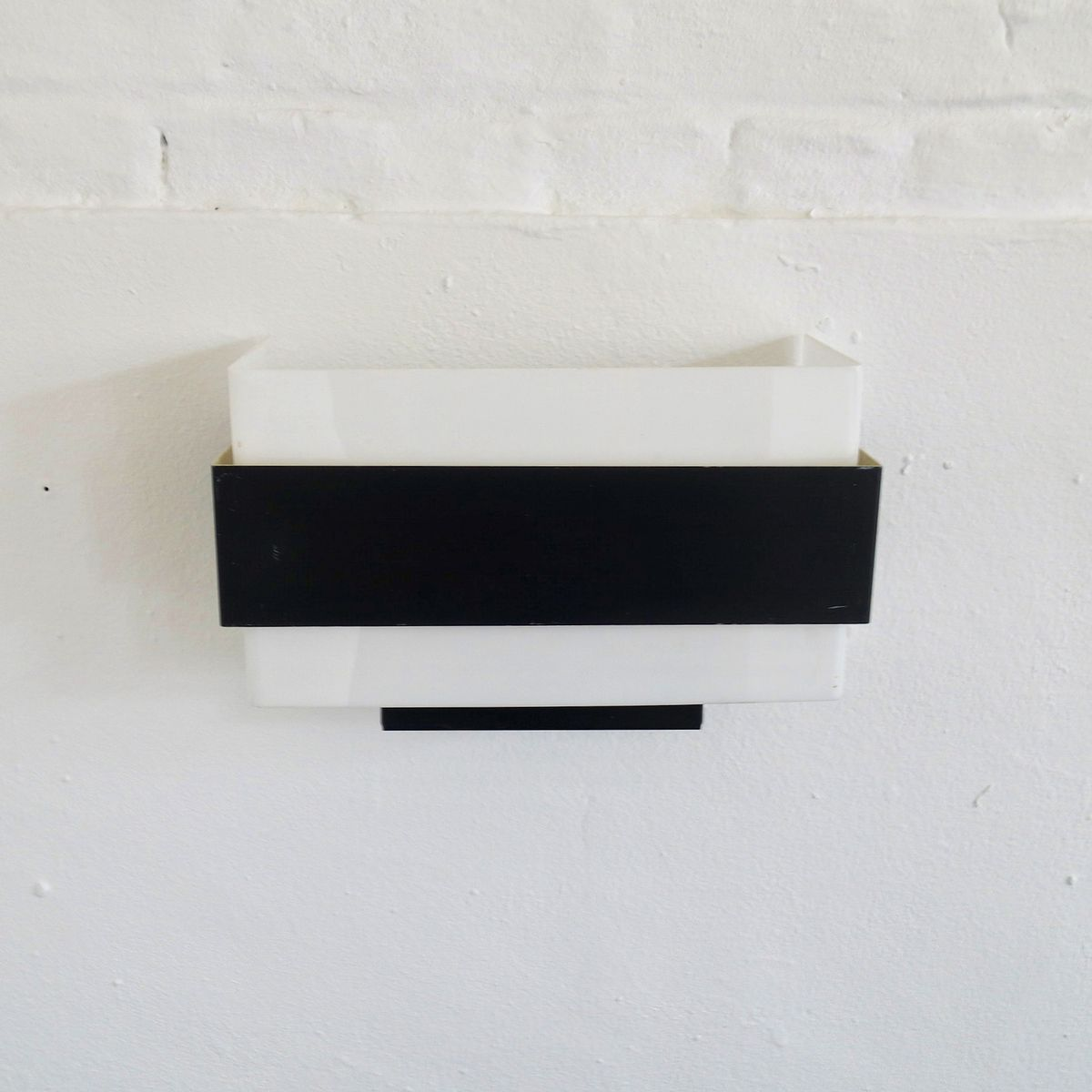 Rechteckige minimalistische Vintage Wandleuchte von Philips