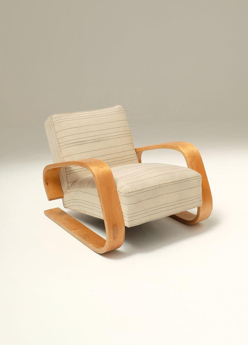 Vintage Tank Chair By Alvar Aalto For Artek 11 4 204 00