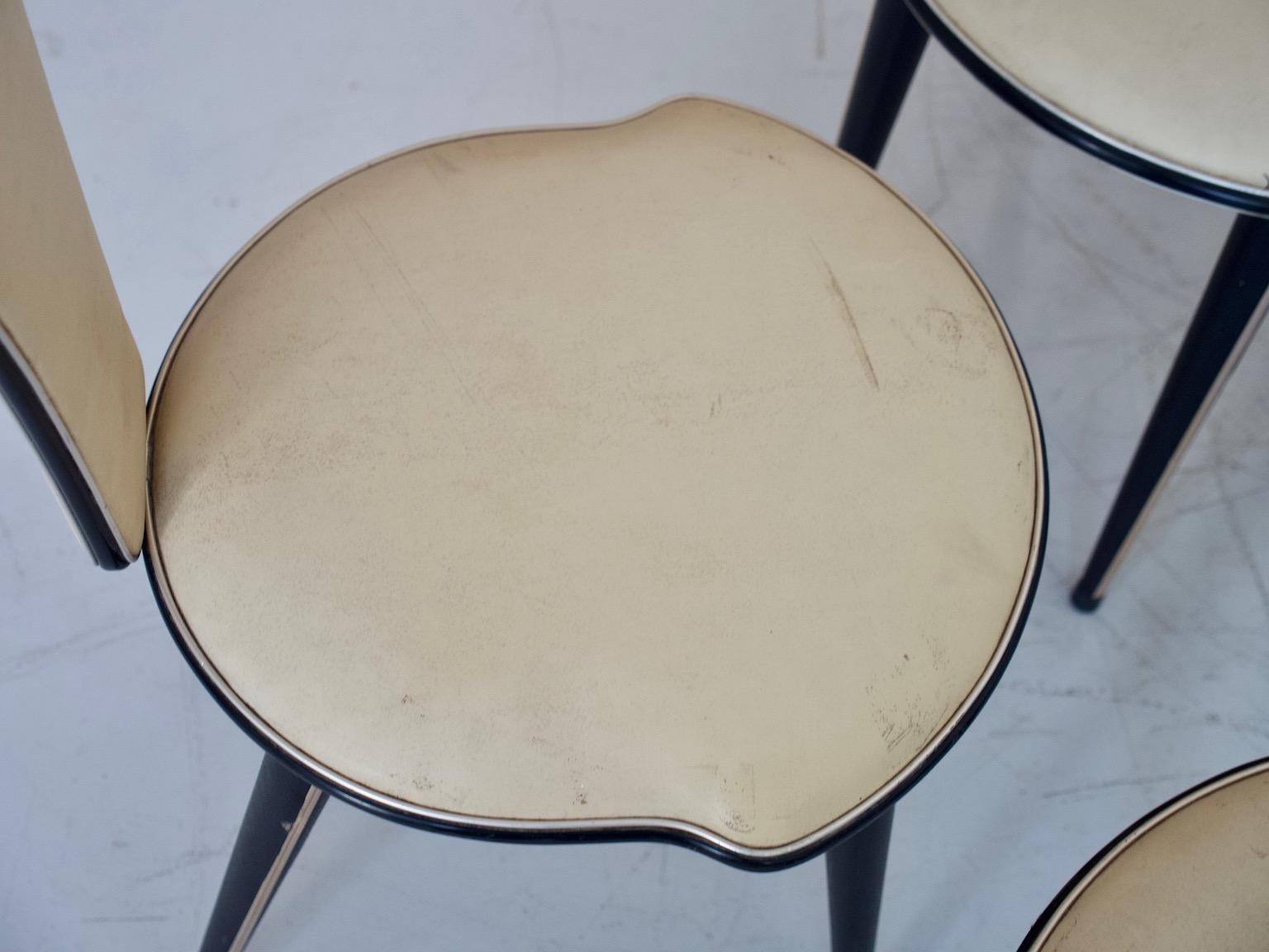 Italienische esszimmerst hle von umberto mascagni 1950er 6er set bei pamono kaufen - Italienische esszimmerstuhle ...