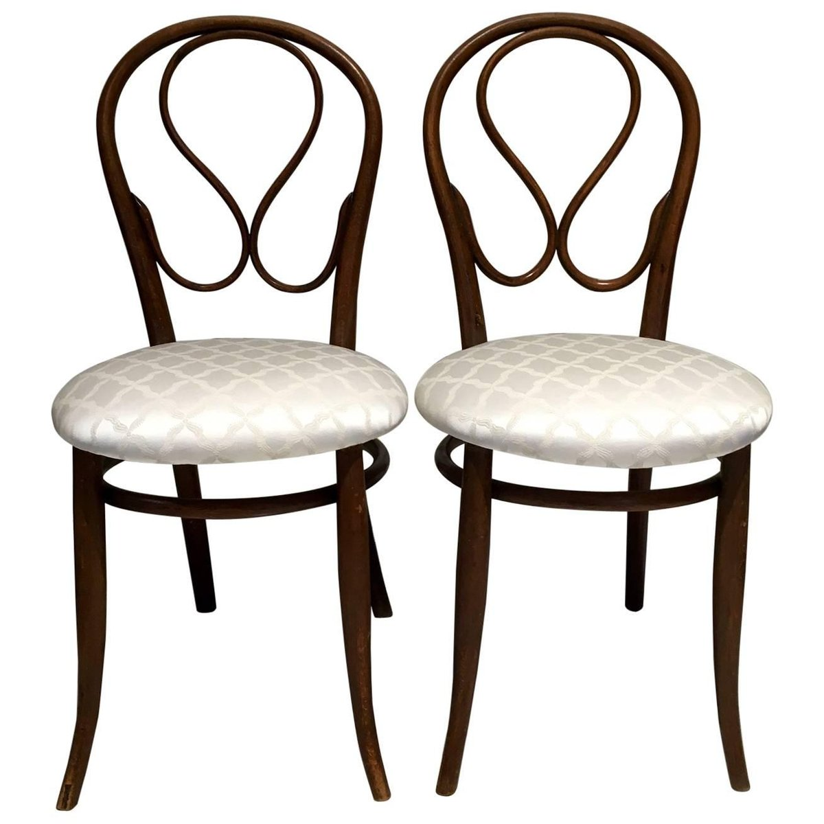 Antique Bentwood Chairs from Thonet, Set of 2 - Antique Bentwood Chairs From Thonet, Set Of 2 For Sale At Pamono
