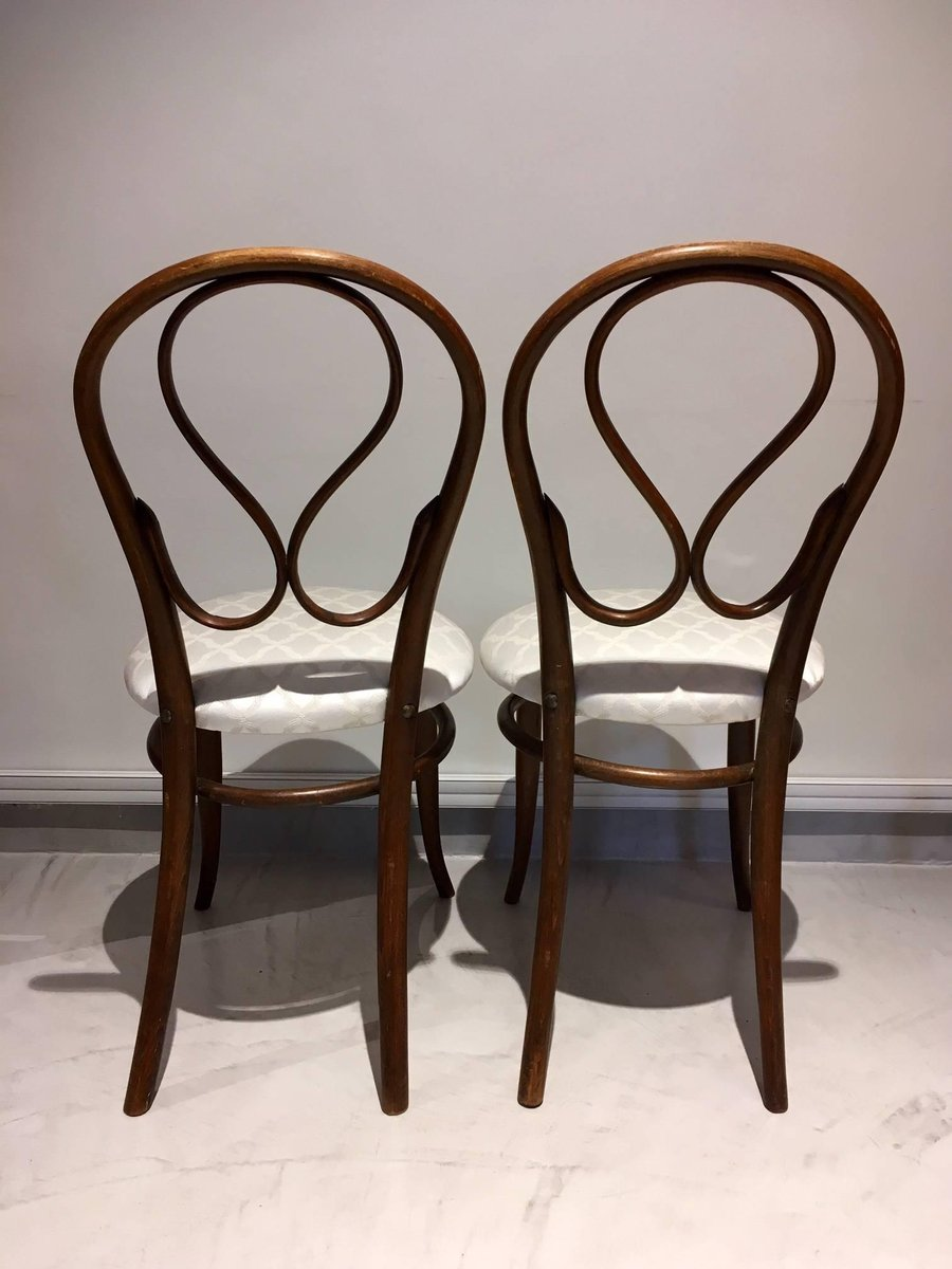 antike bugholz st hle von thonet 2er set bei pamono kaufen. Black Bedroom Furniture Sets. Home Design Ideas