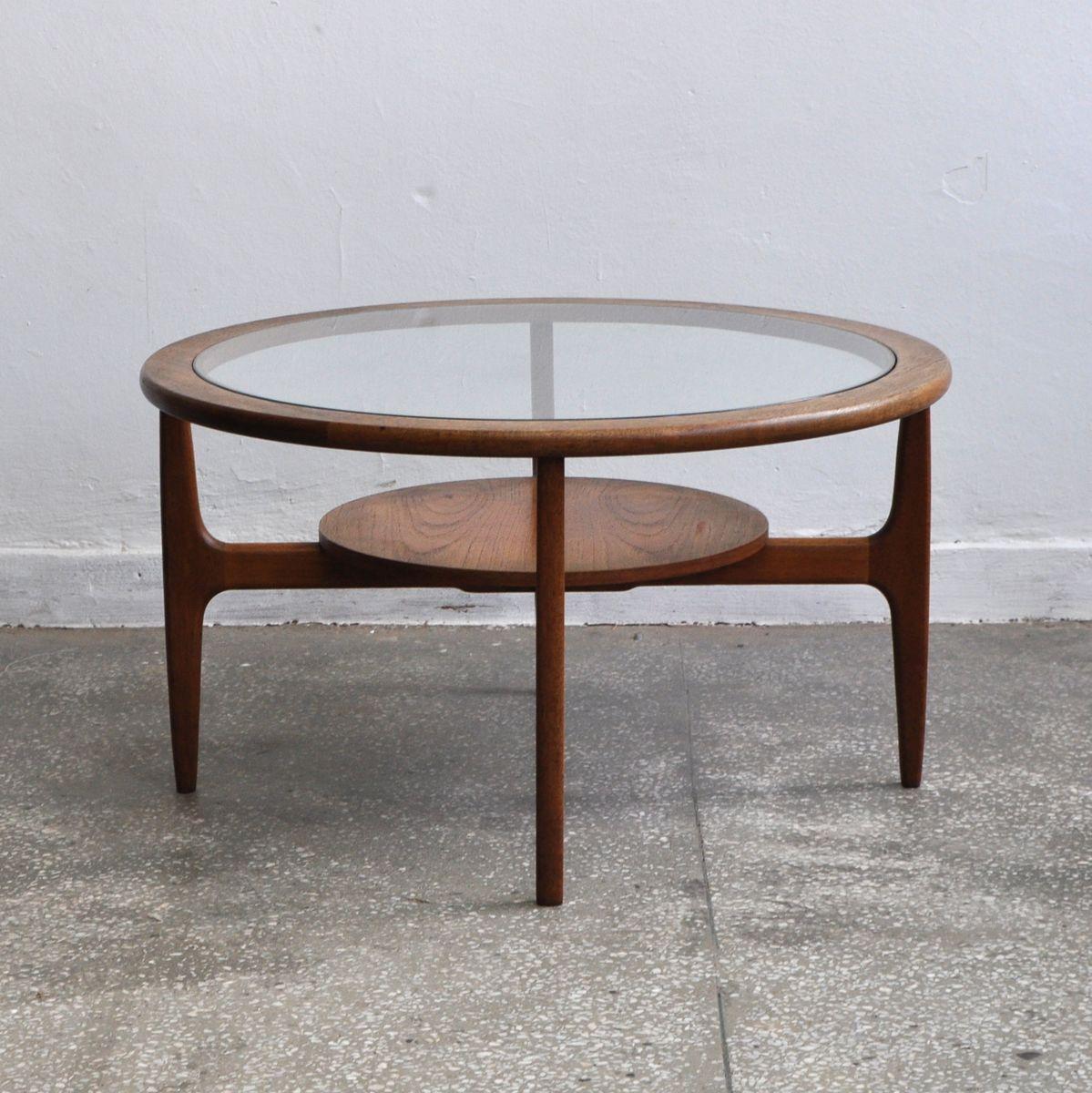 Mid century round coffee table 1960s